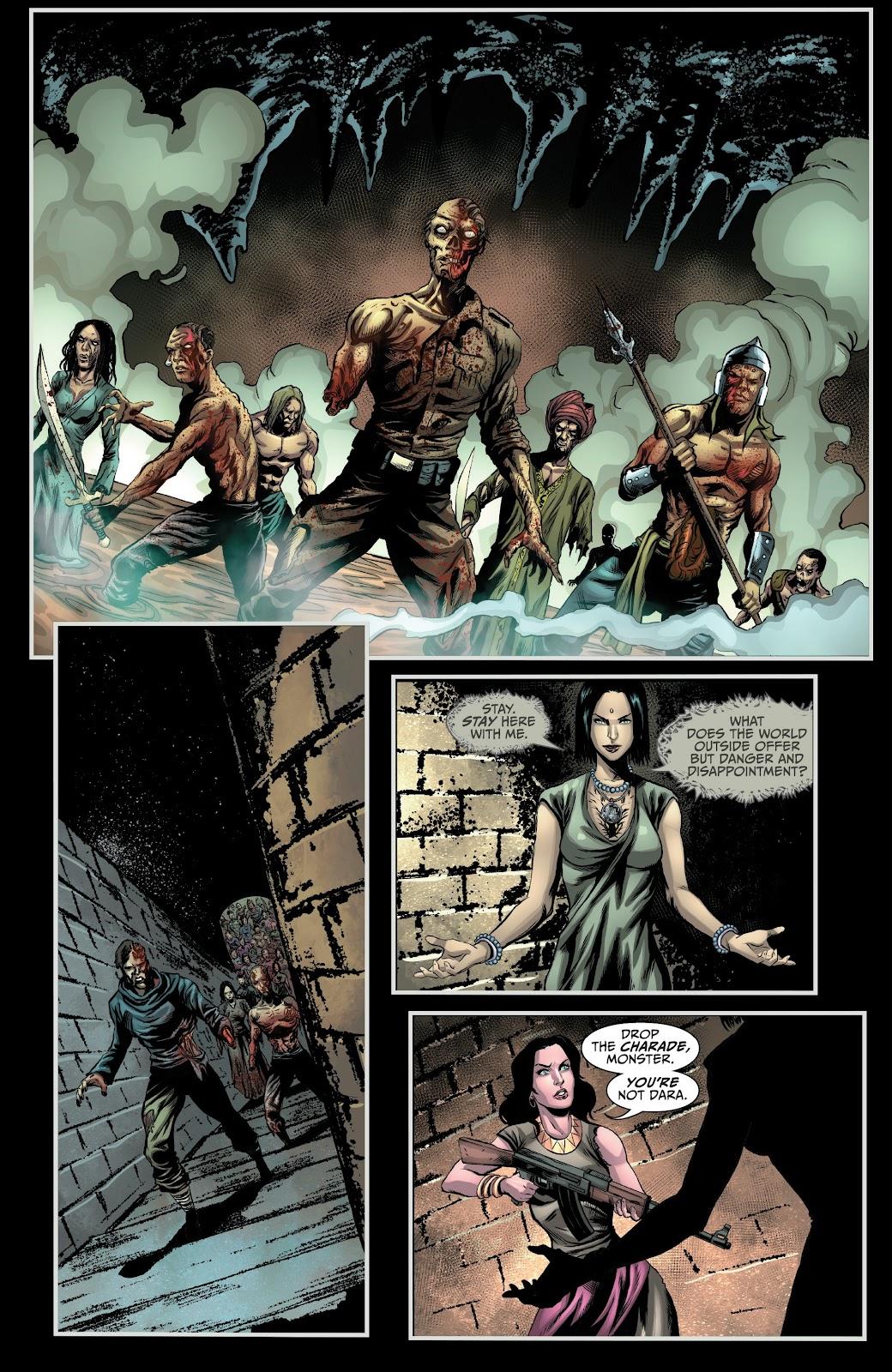 Read online Van Helsing: Sword of Heaven comic -  Issue #6 - 13