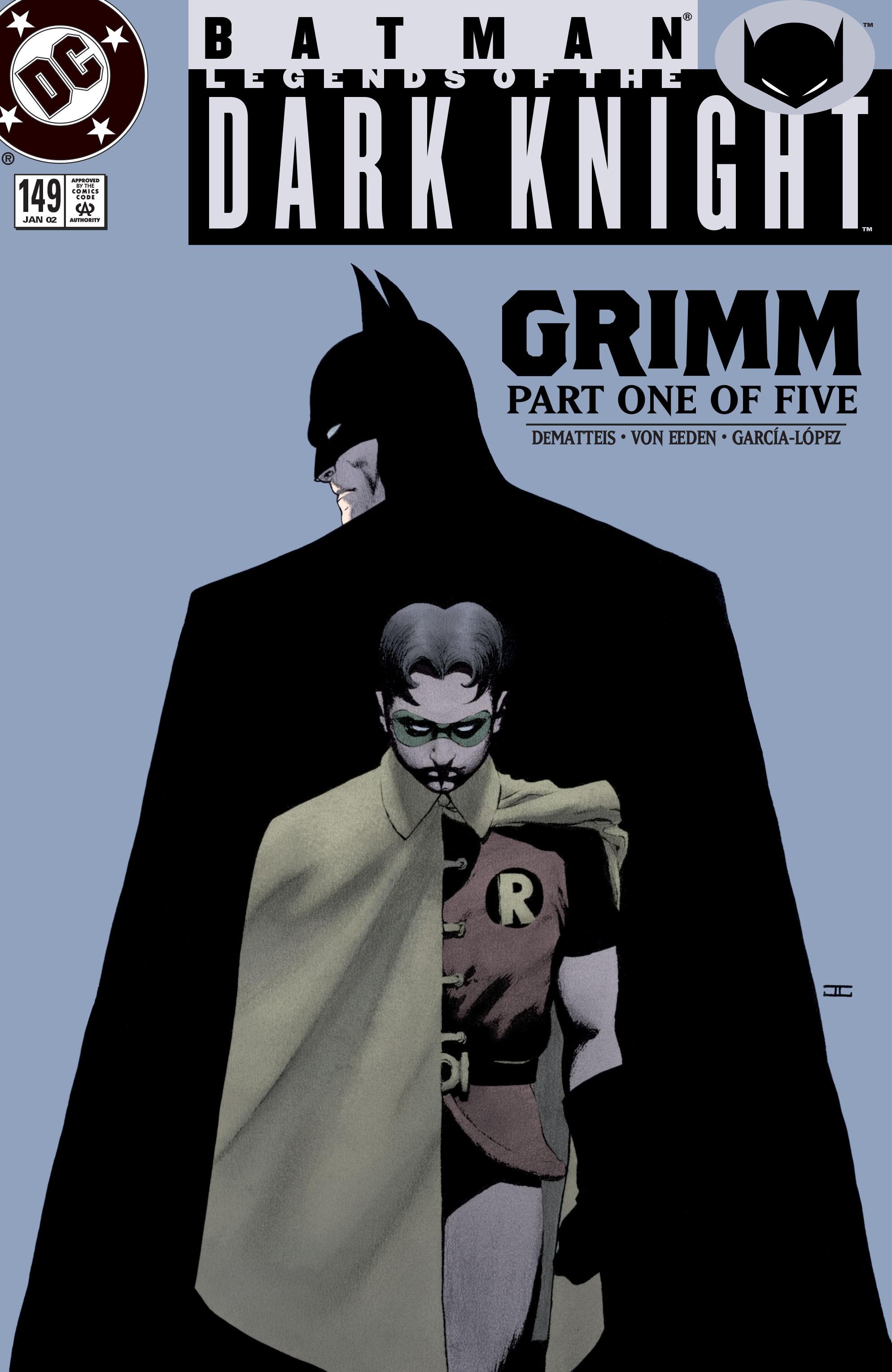 Batman: Legends of the Dark Knight 149 Page 1