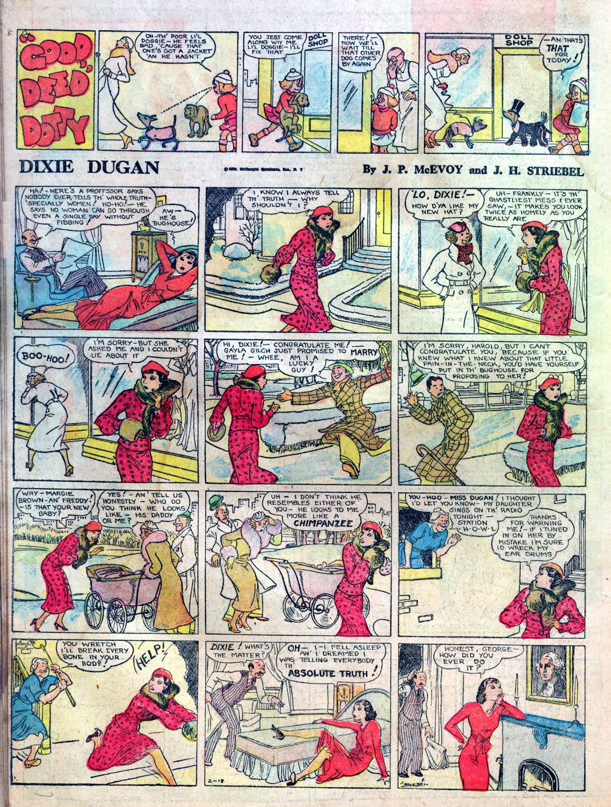 Read online Famous Funnies comic -  Issue #1 - 40