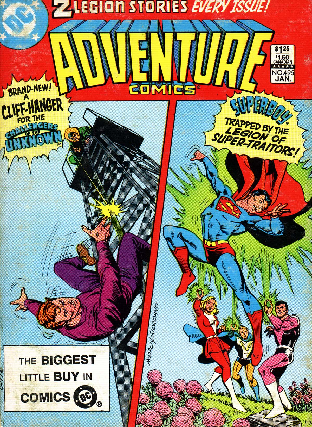 Read online Adventure Comics (1938) comic -  Issue #495 - 1