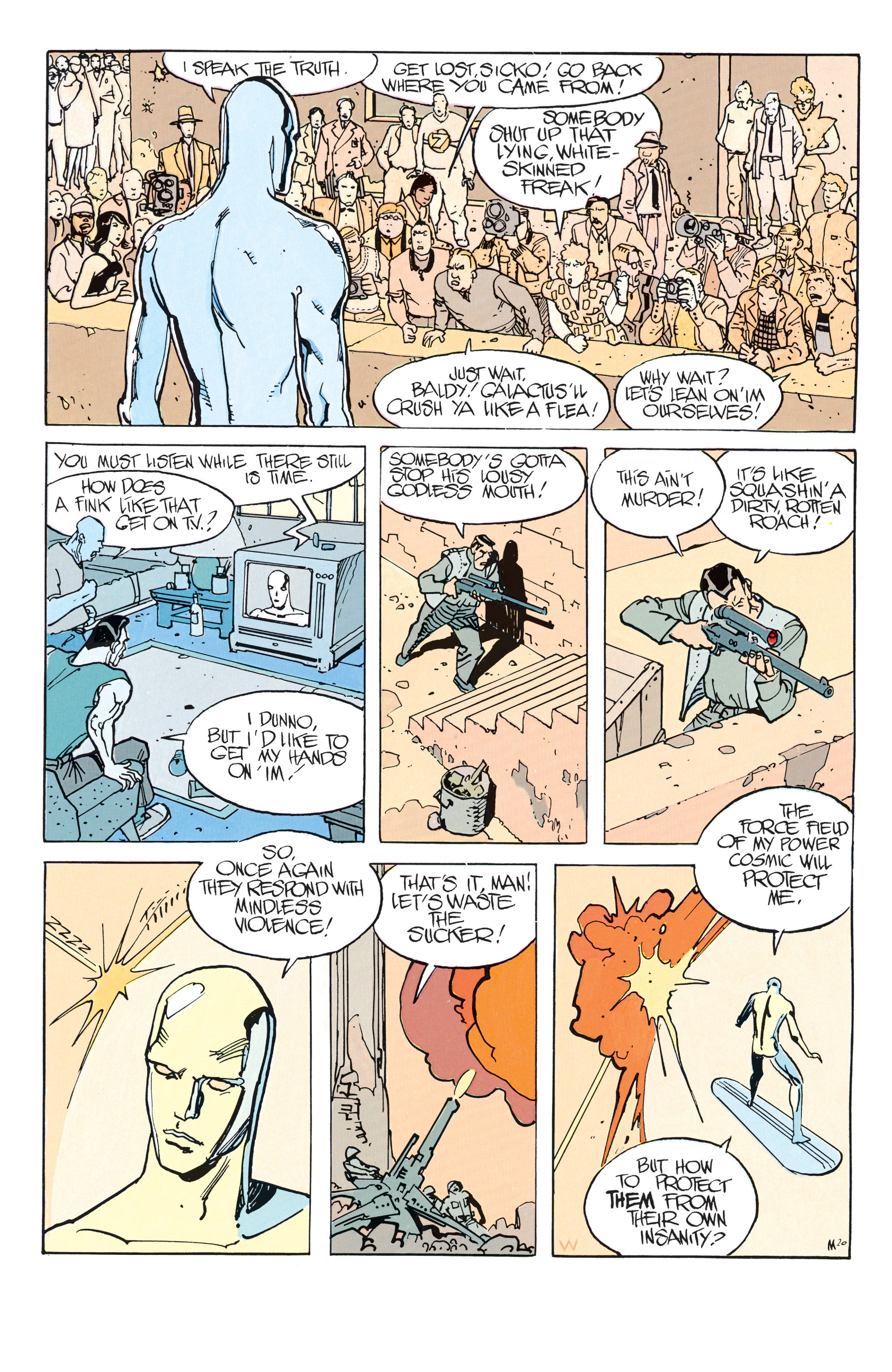 Read online Silver Surfer: Parable comic -  Issue # TPB - 26