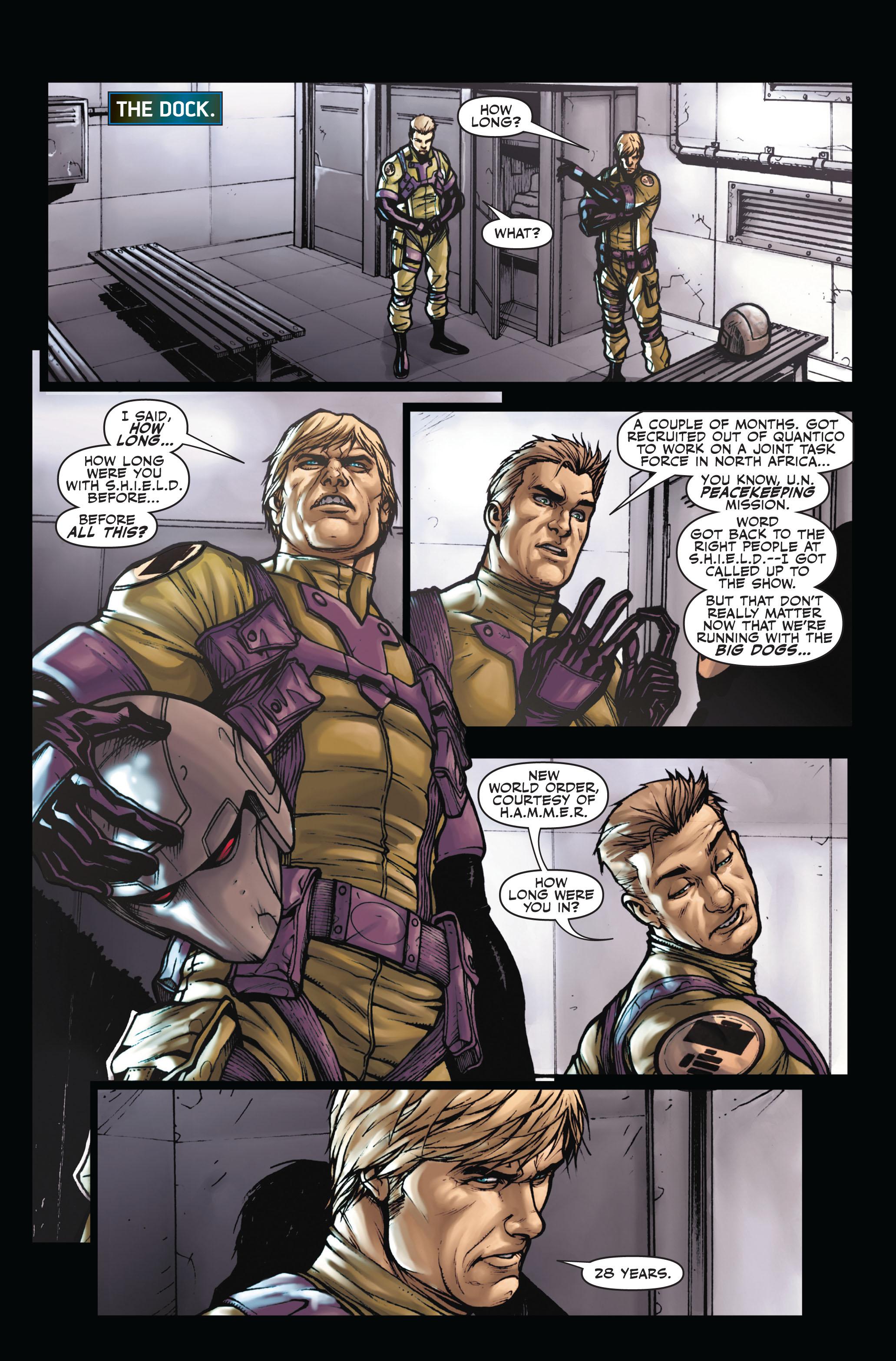 Read online Secret Warriors comic -  Issue #5 - 4