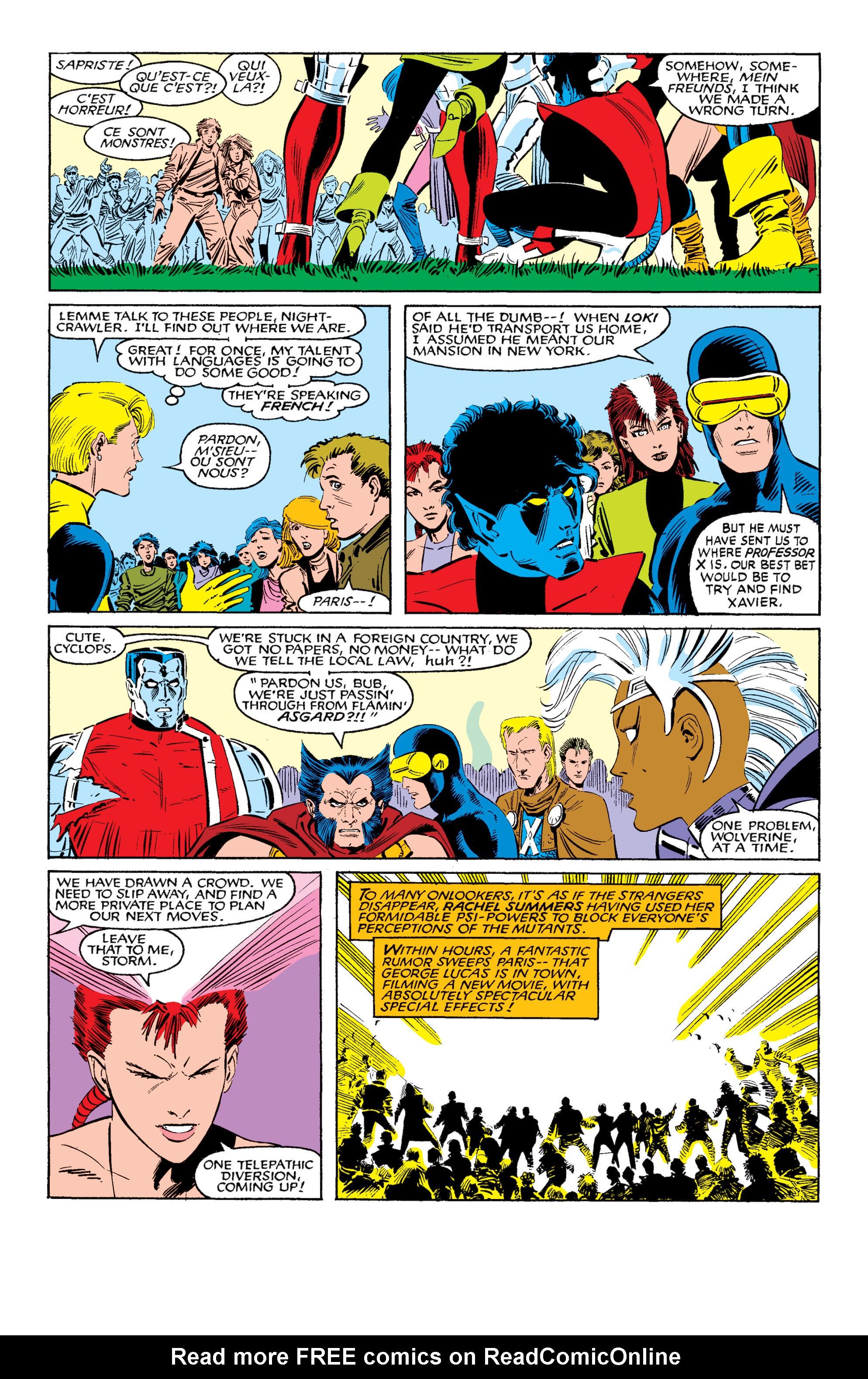Read online Uncanny X-Men (1963) comic -  Issue #200 - 7