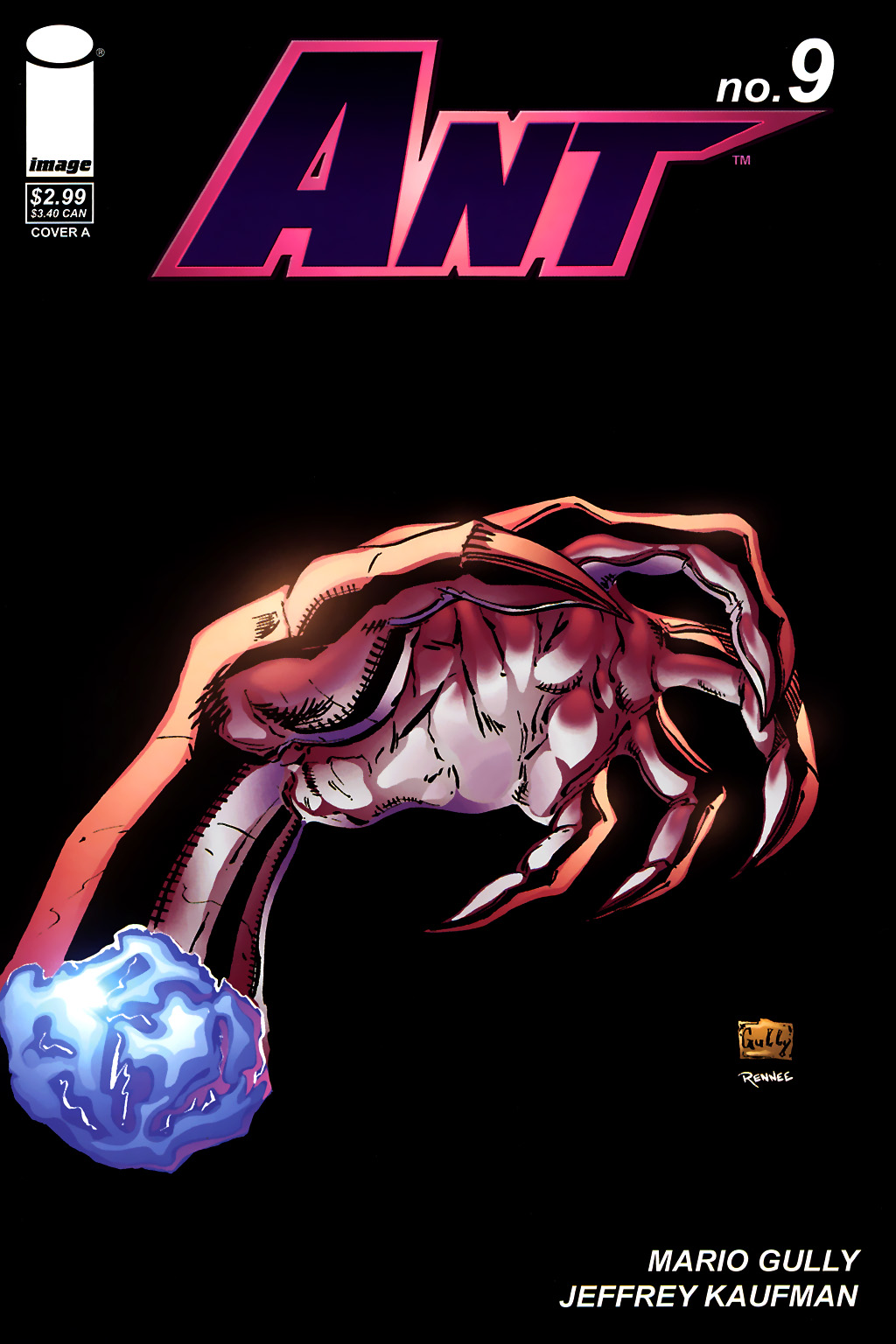 Read online Ant comic -  Issue #9 - 1