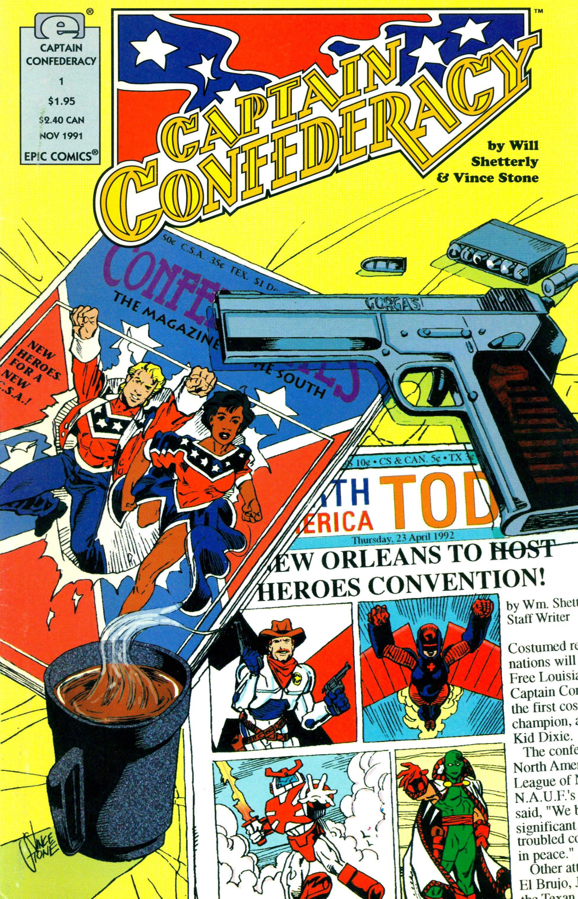 Captain Confederacy (1991) 1 Page 1