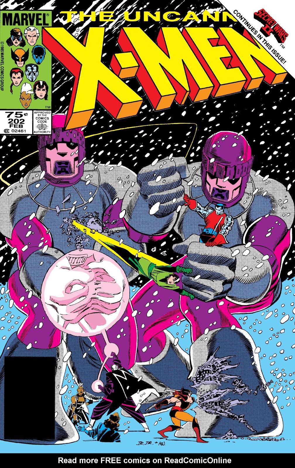 Uncanny X-Men (1963) 202 Page 1