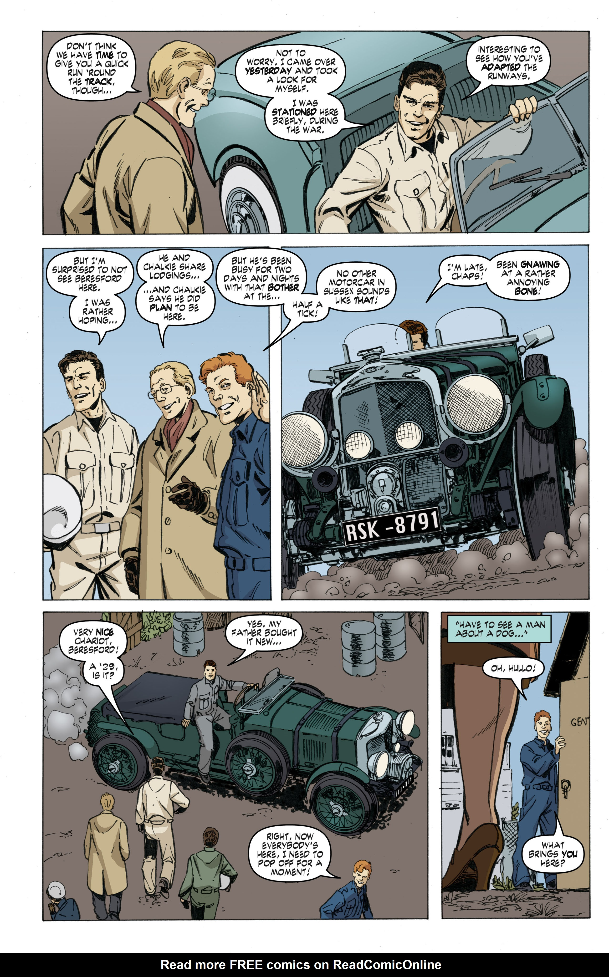 Read online Cold War comic -  Issue # TPB - 46
