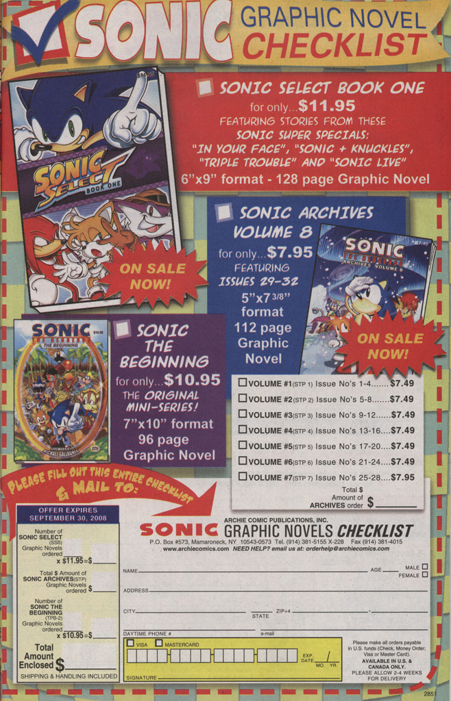 Read online Sonic X comic -  Issue #36 - 21