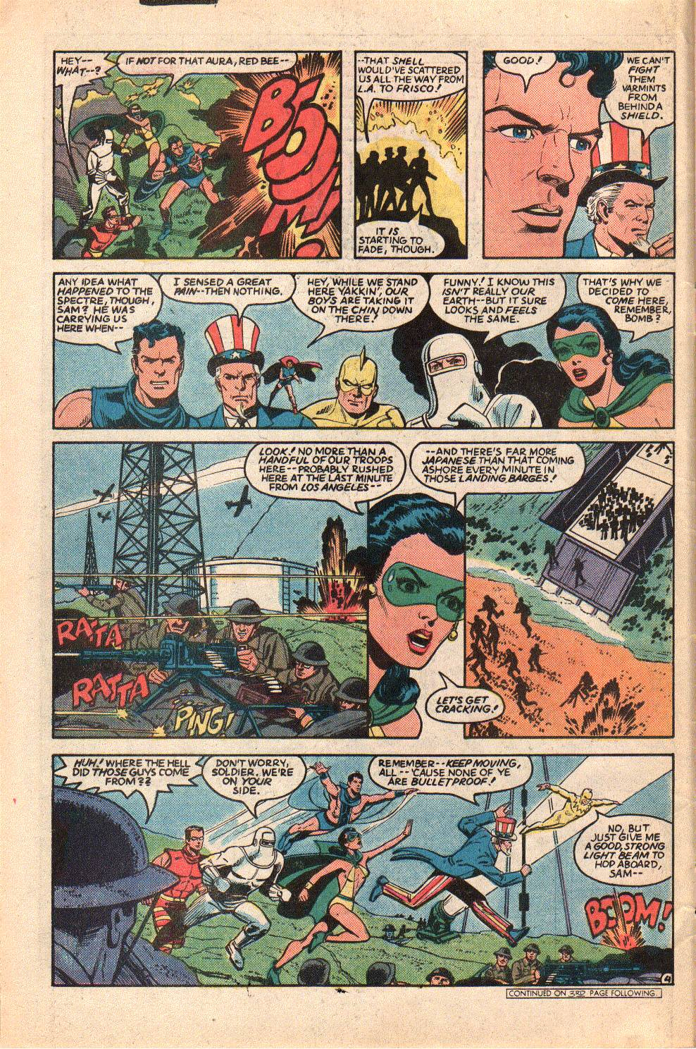 Read online All-Star Squadron comic -  Issue #33 - 6