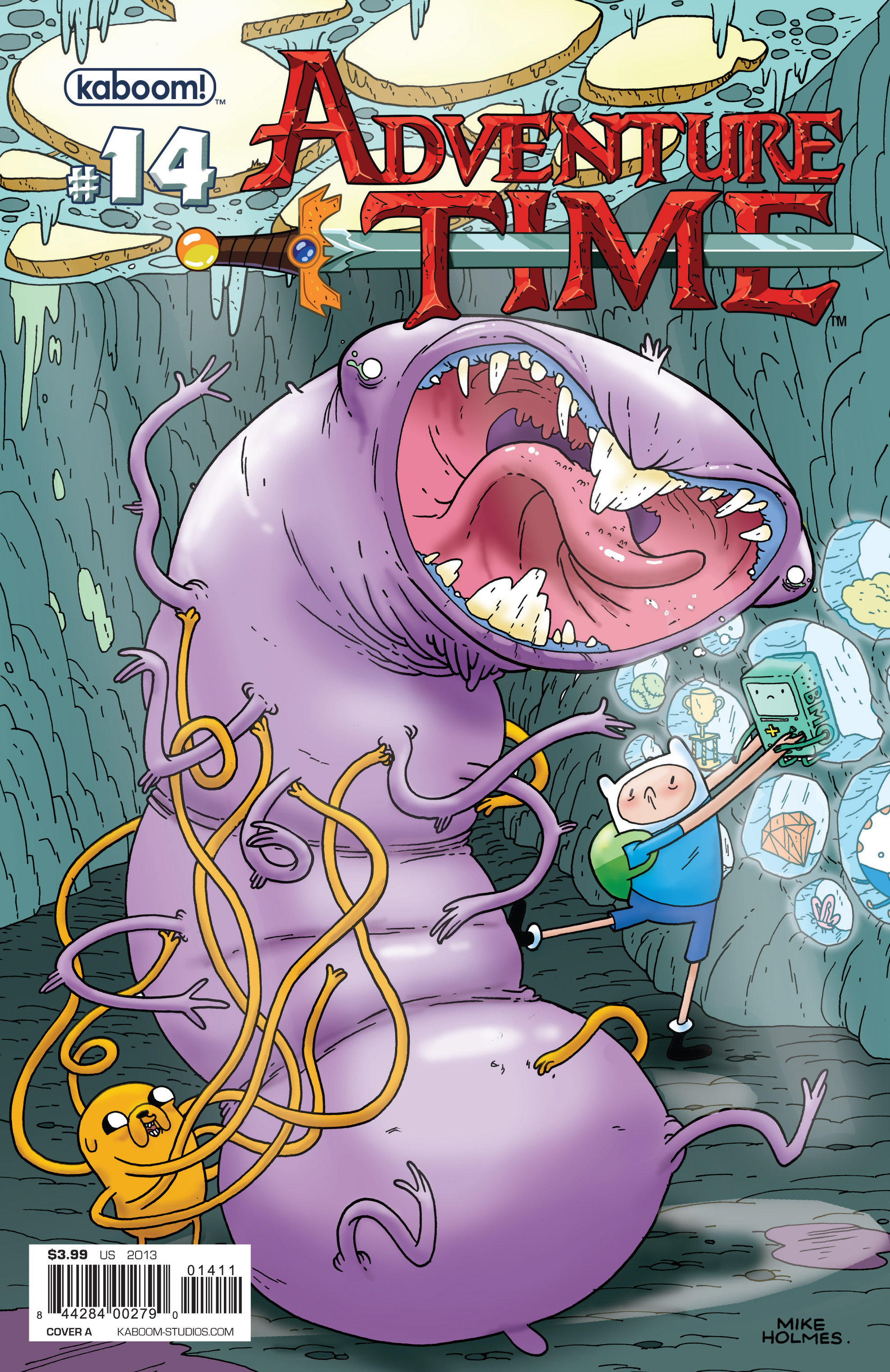 Read online Adventure Time comic -  Issue #14 - 1