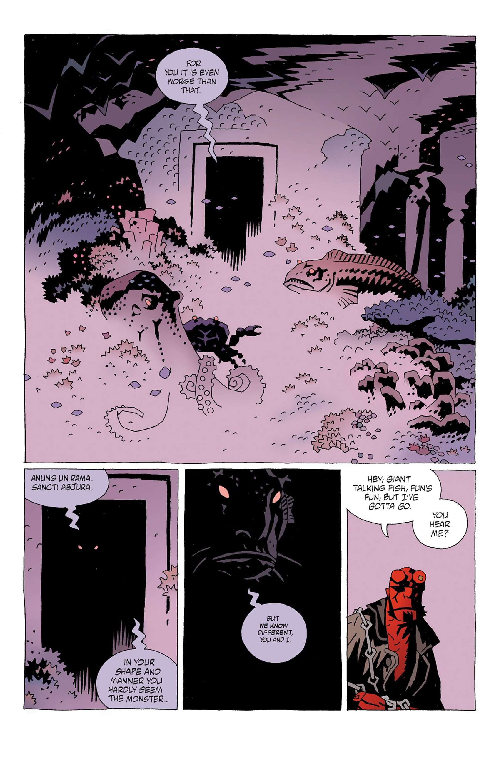 Read online Hellboy: Strange Places comic -  Issue # TPB - 26