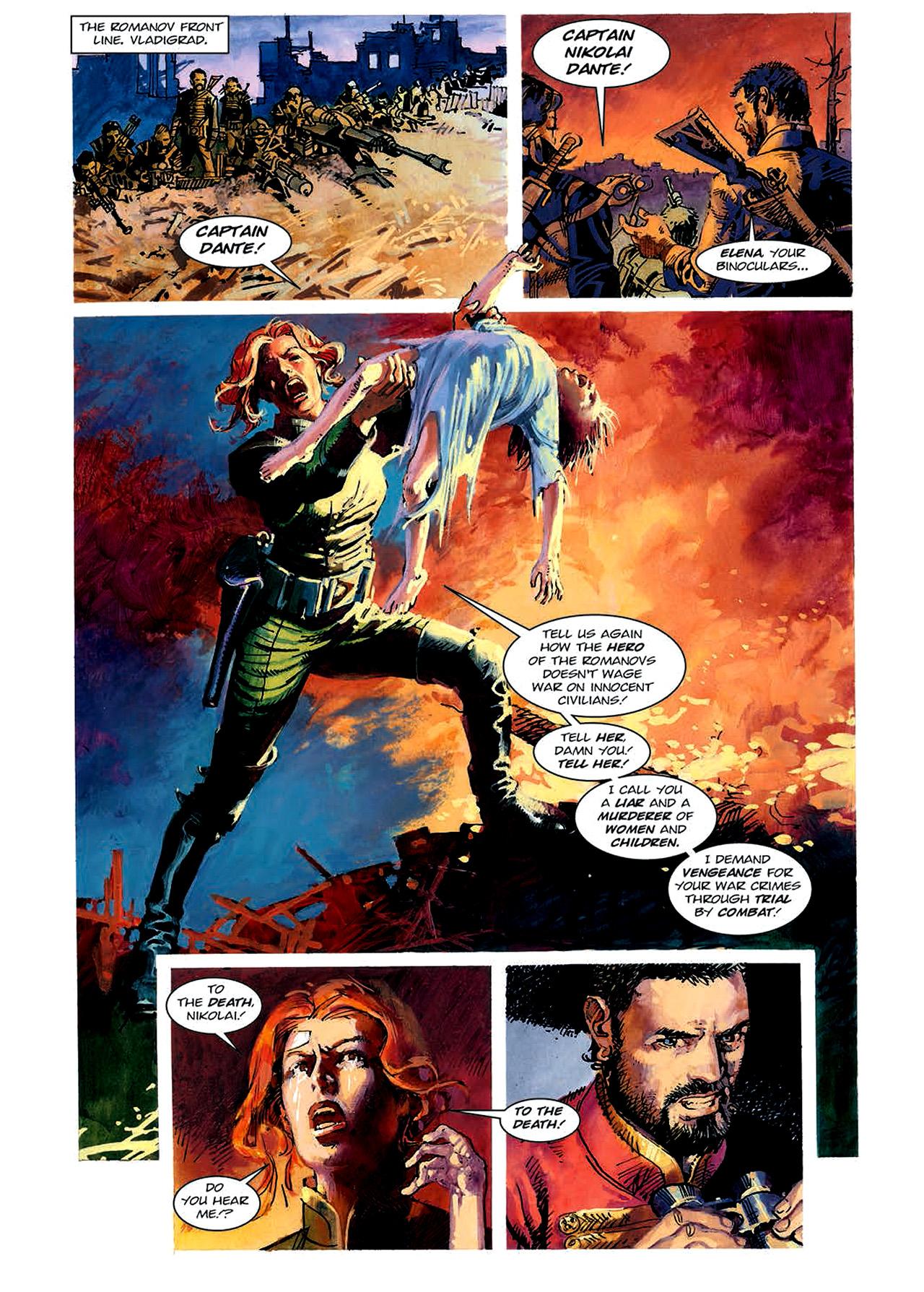 Read online Nikolai Dante comic -  Issue # TPB 4 - 88