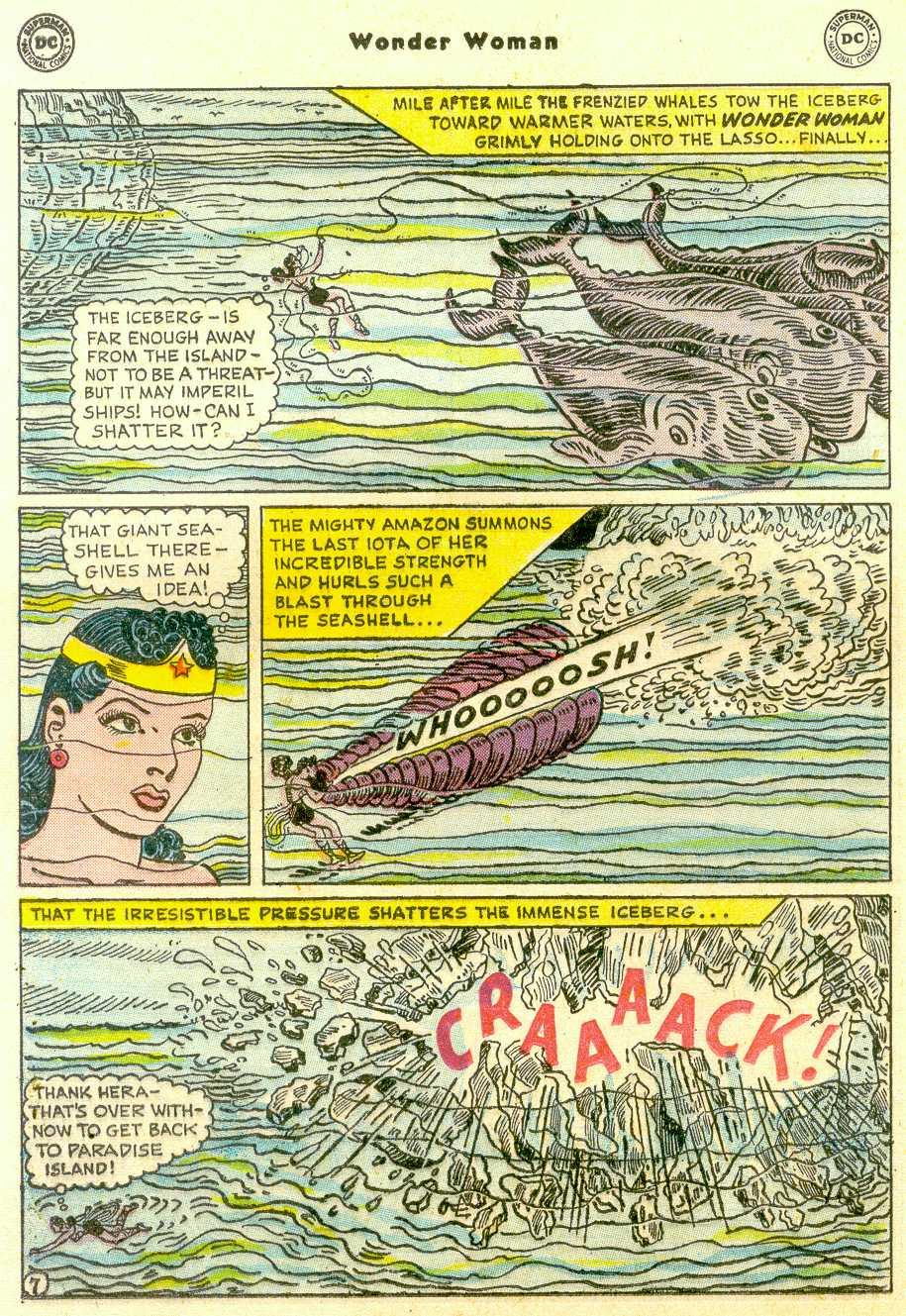 Read online Wonder Woman (1942) comic -  Issue #96 - 21