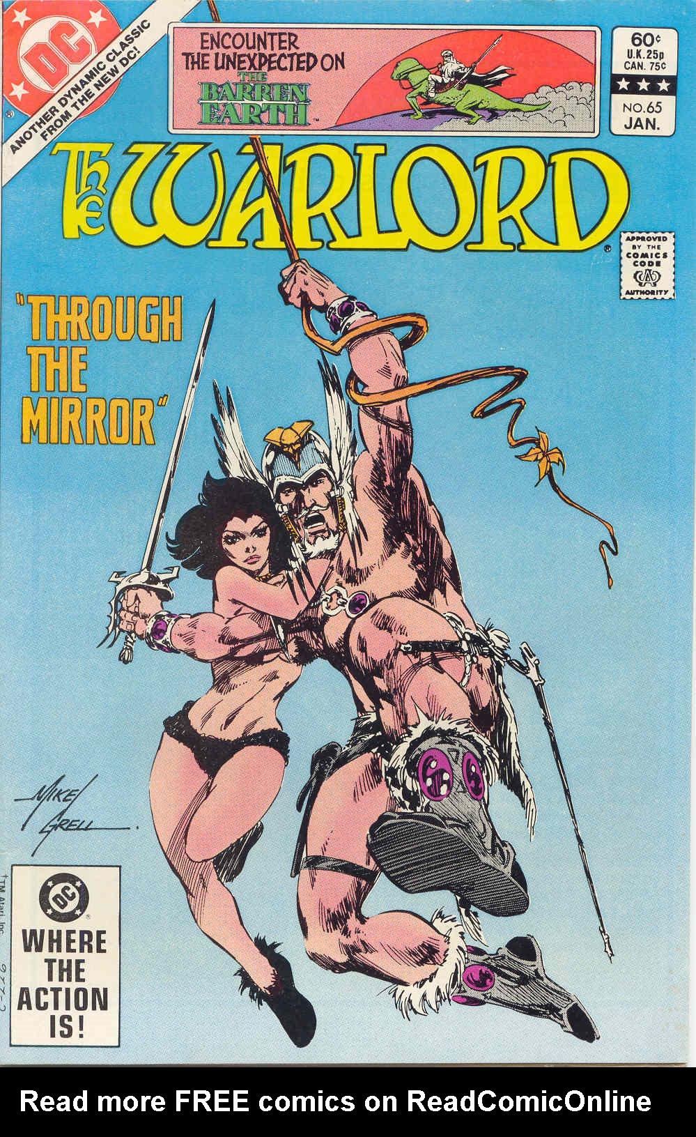 Warlord (1976) 65 Page 1