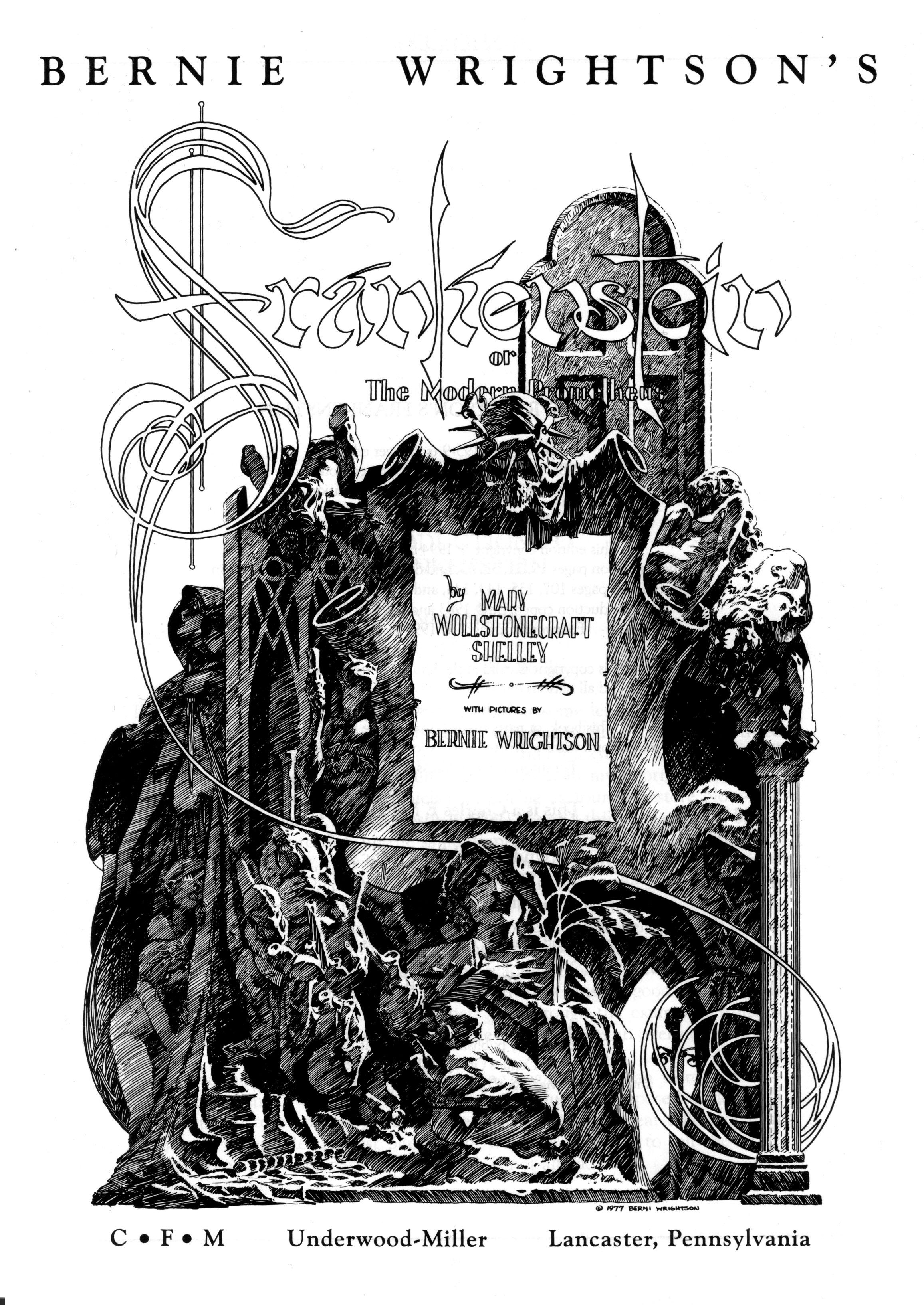 Read online Bernie Wrightson's Frankenstein comic -  Issue # Full - 2