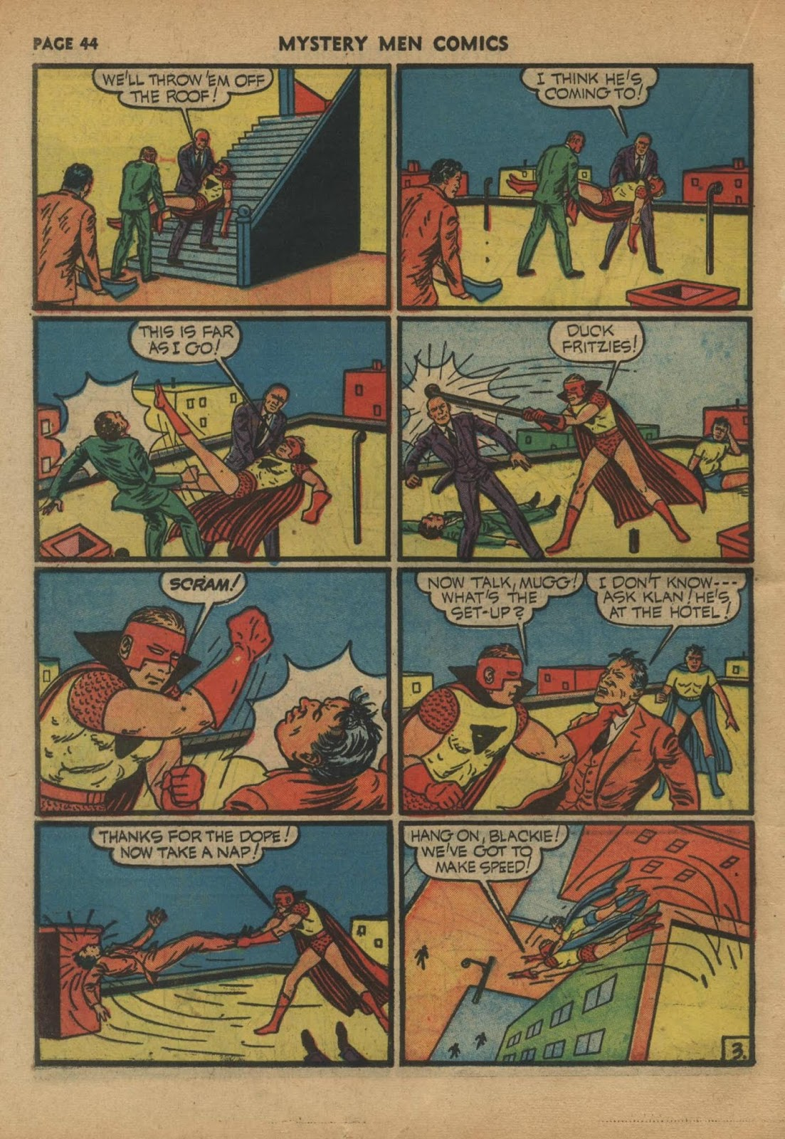 Mystery Men Comics issue 24 - Page 46