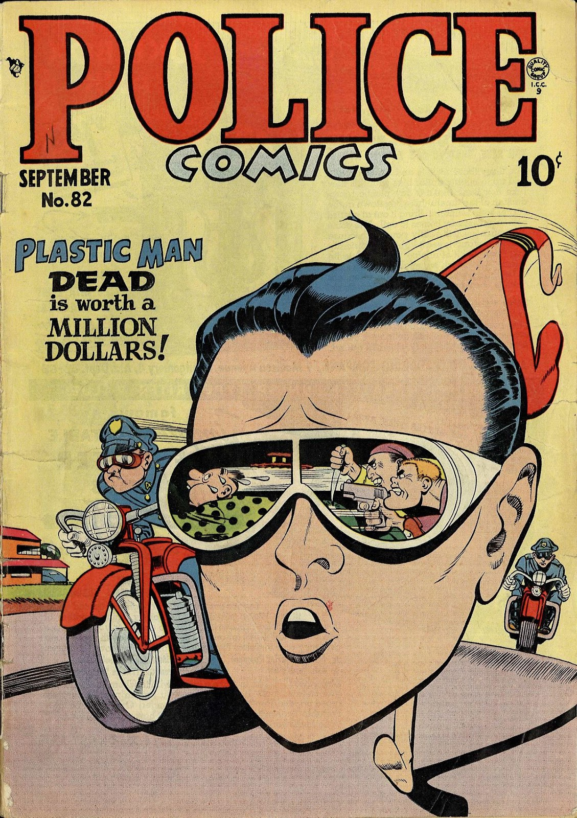 Police Comics 82 Page 1