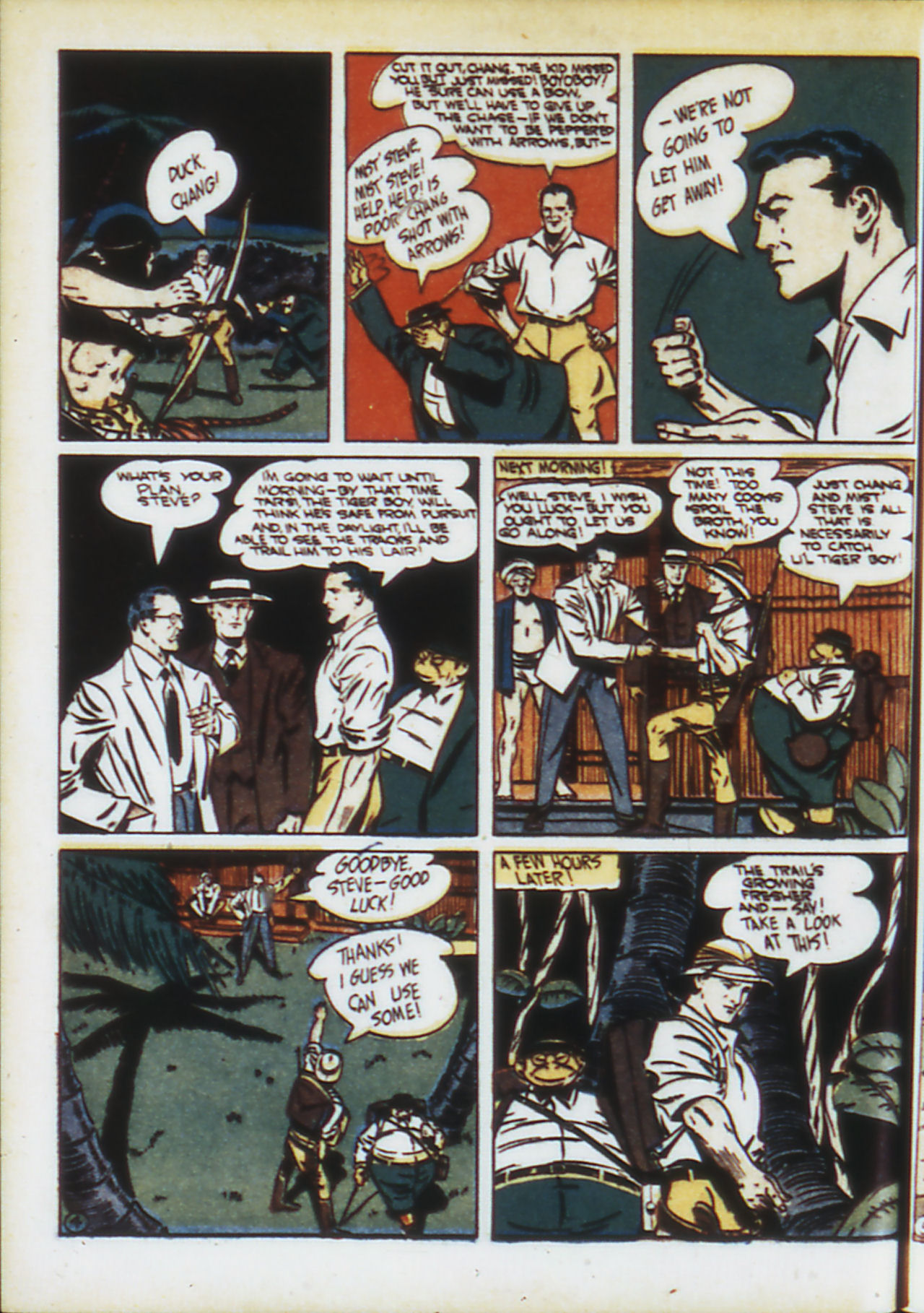 Read online Adventure Comics (1938) comic -  Issue #74 - 29