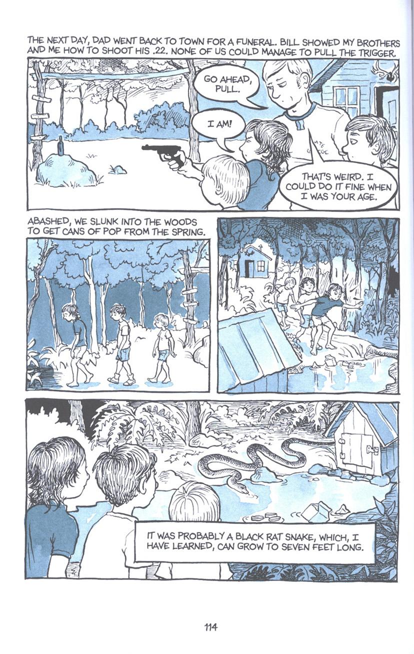 Read online Fun Home: A Family Tragicomic comic -  Issue # TPB - 120