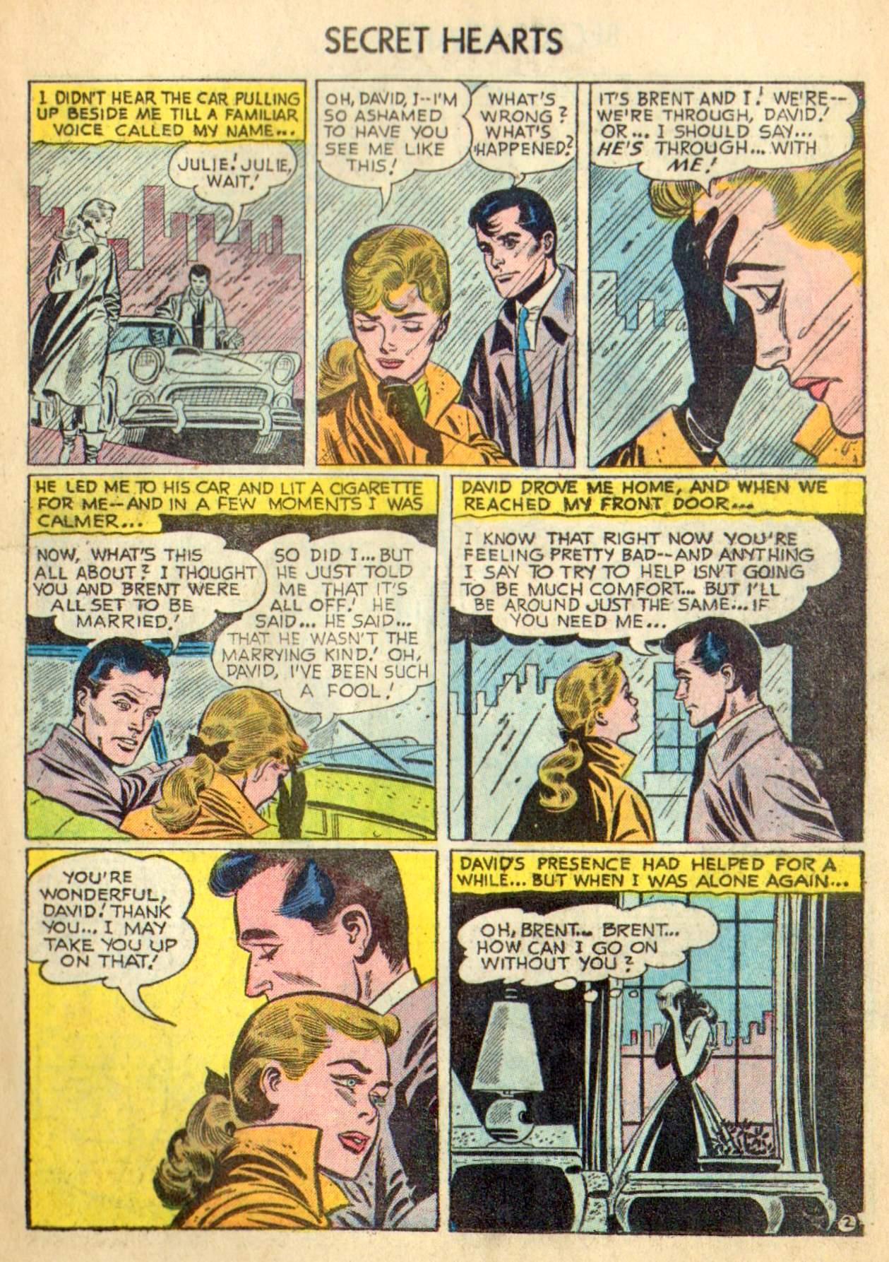 Read online Secret Hearts comic -  Issue #31 - 11