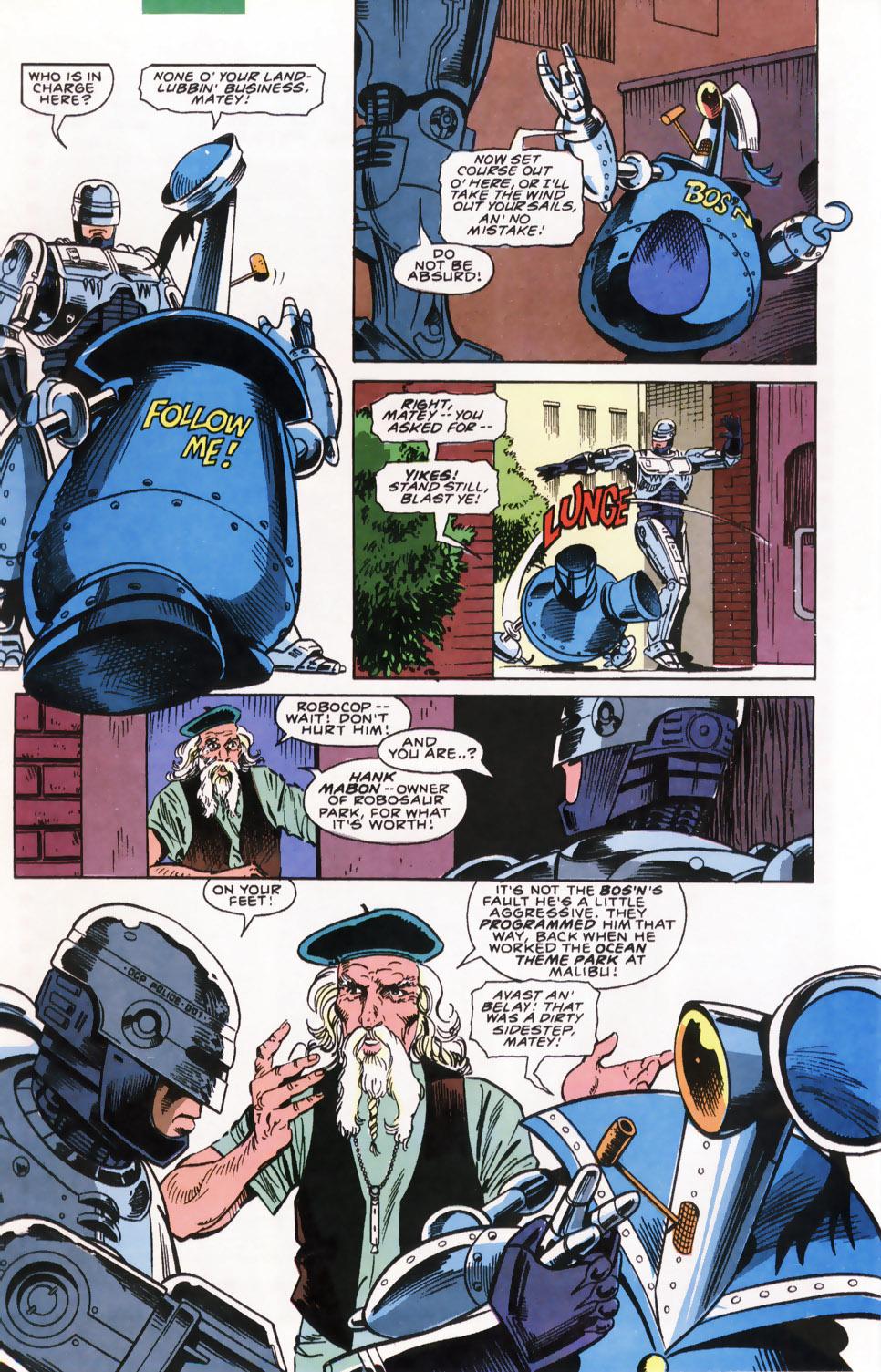 Read online Robocop (1990) comic -  Issue #7 - 8
