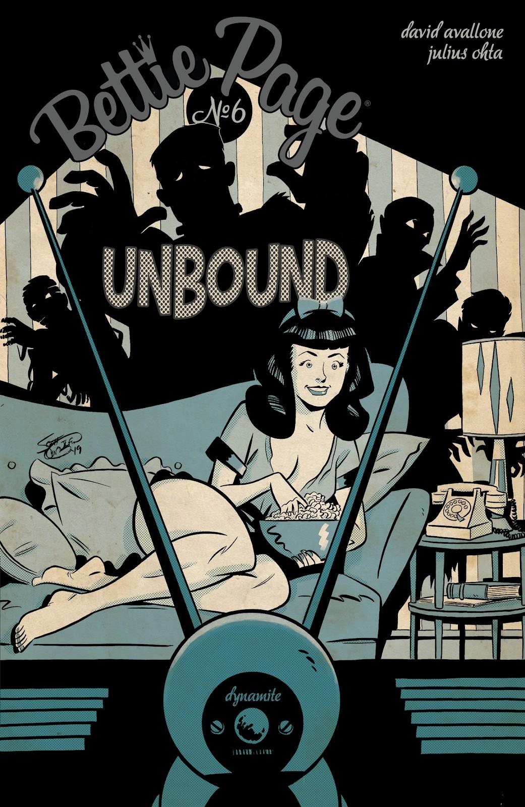 Read online Bettie Page: Unbound comic -  Issue #6 - 2