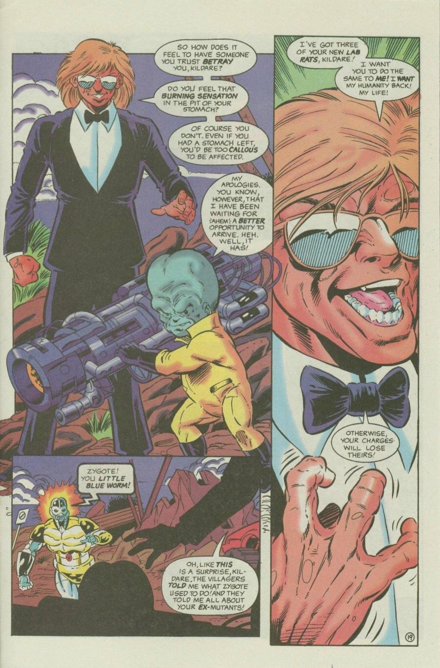 Read online Ex-Mutants comic -  Issue #6 - 25