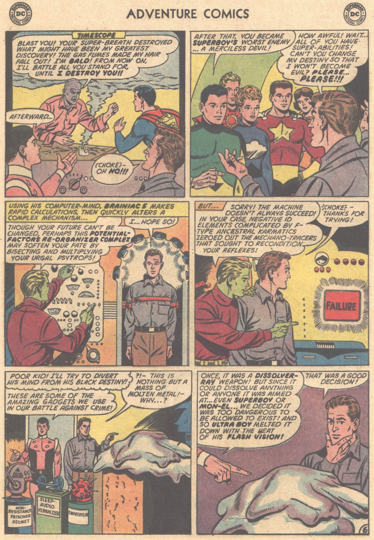 Read online Adventure Comics (1938) comic -  Issue #325 - 8
