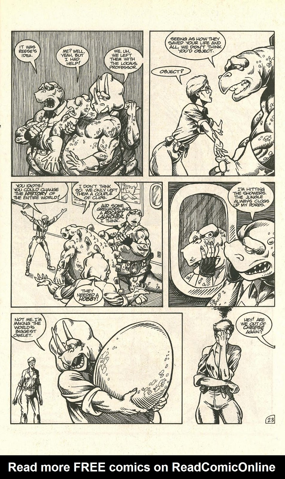 Dinosaurs For Hire (1988) issue 9 - Page 29