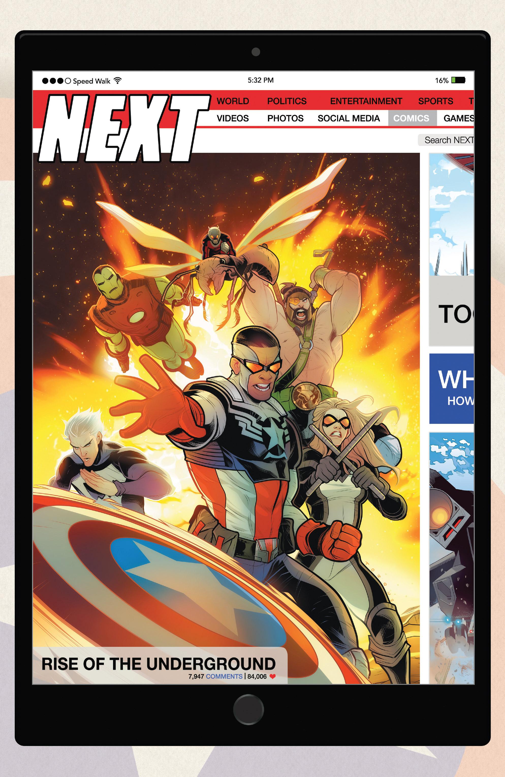 Read online Captain America: Sam Wilson comic -  Issue #23 - 22