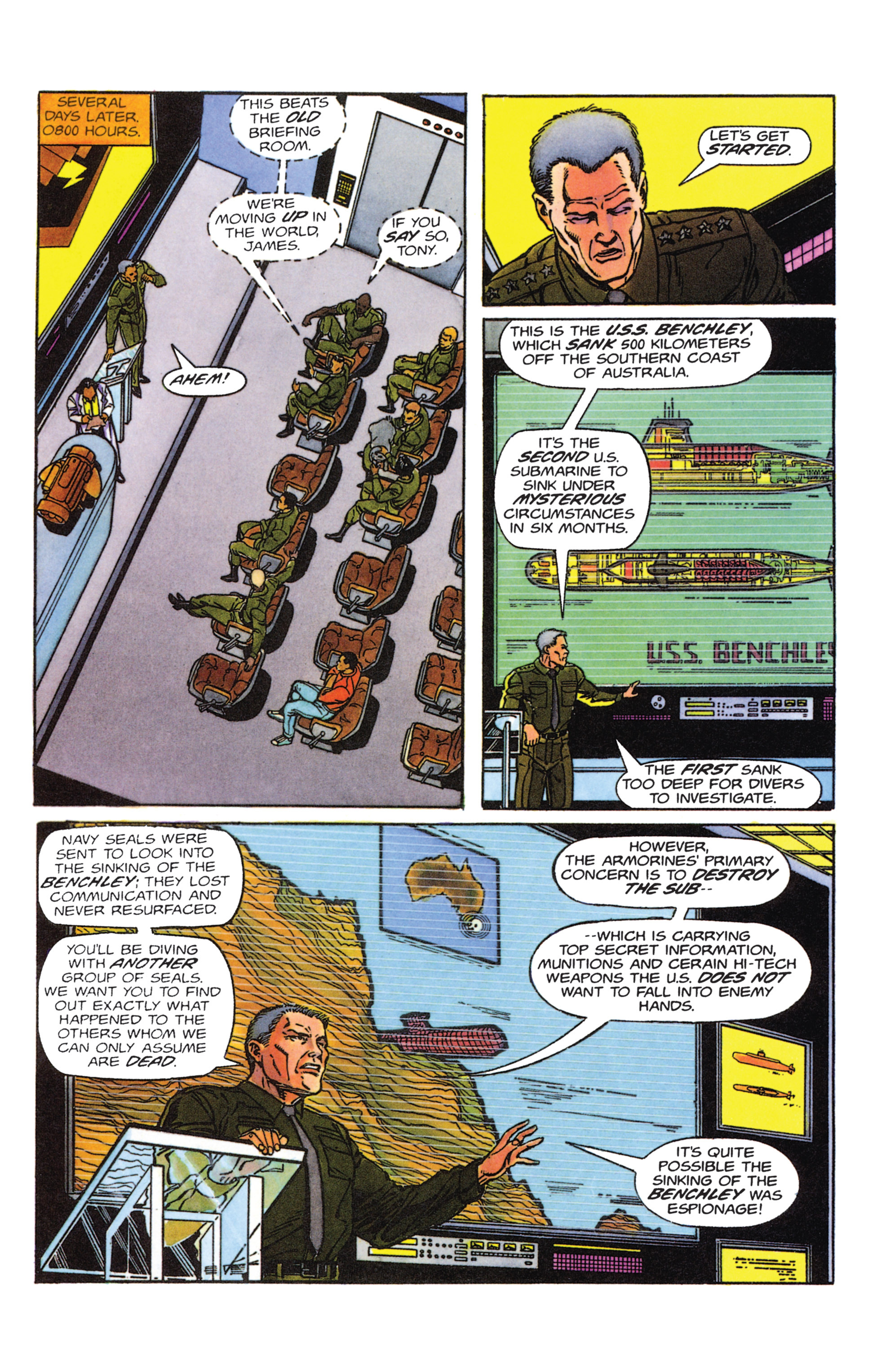 Read online Armorines comic -  Issue #1 - 9