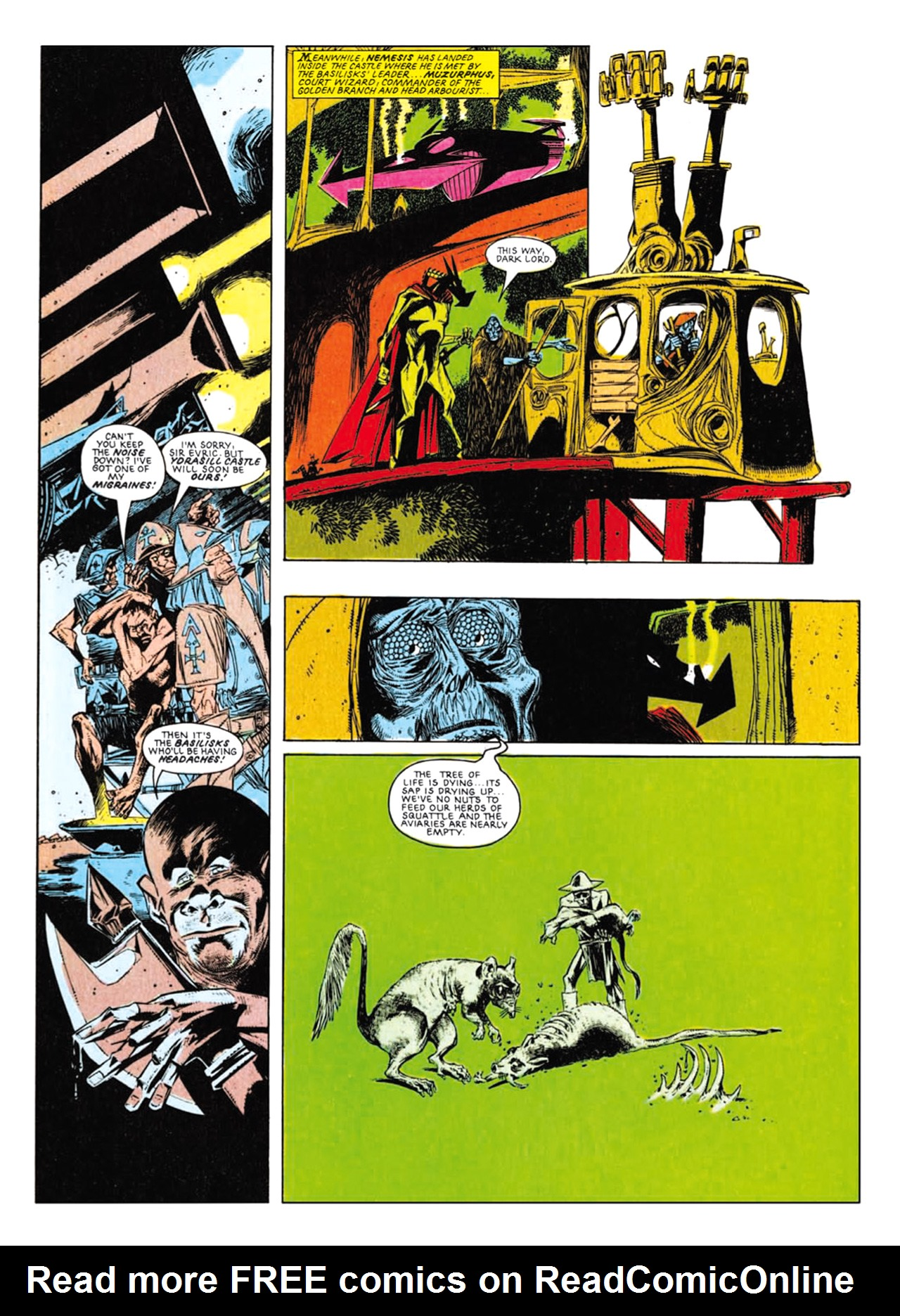 Read online Nemesis The Warlock comic -  Issue # TPB Deviant Edition - 179