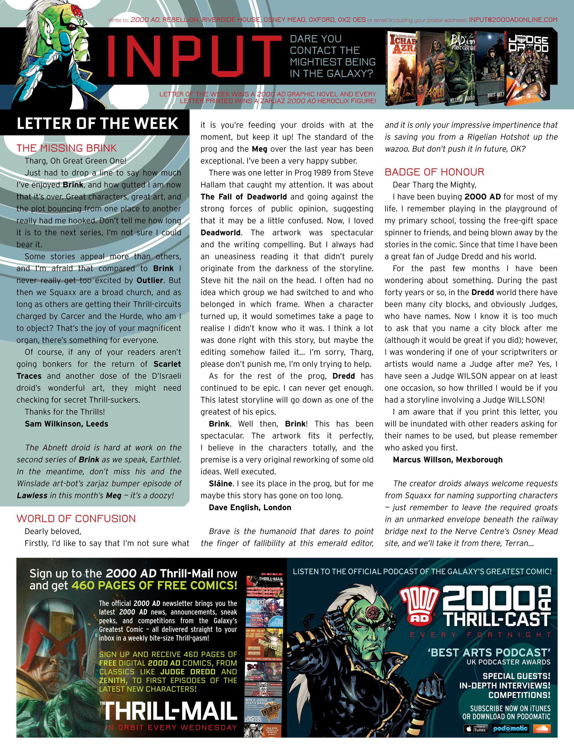 Read online 2000 AD comic -  Issue #1994 - 31