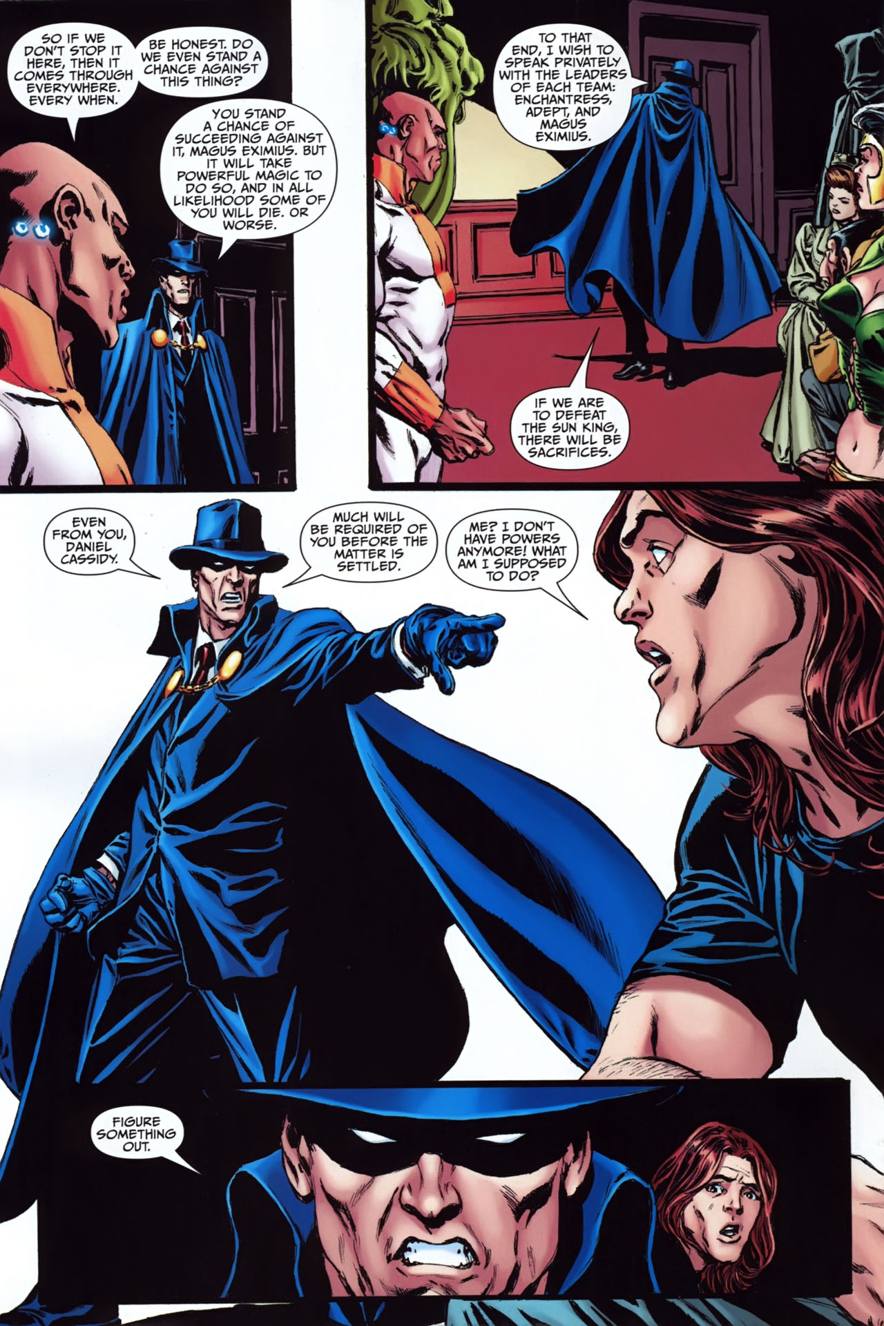 Read online Shadowpact comic -  Issue #24 - 5