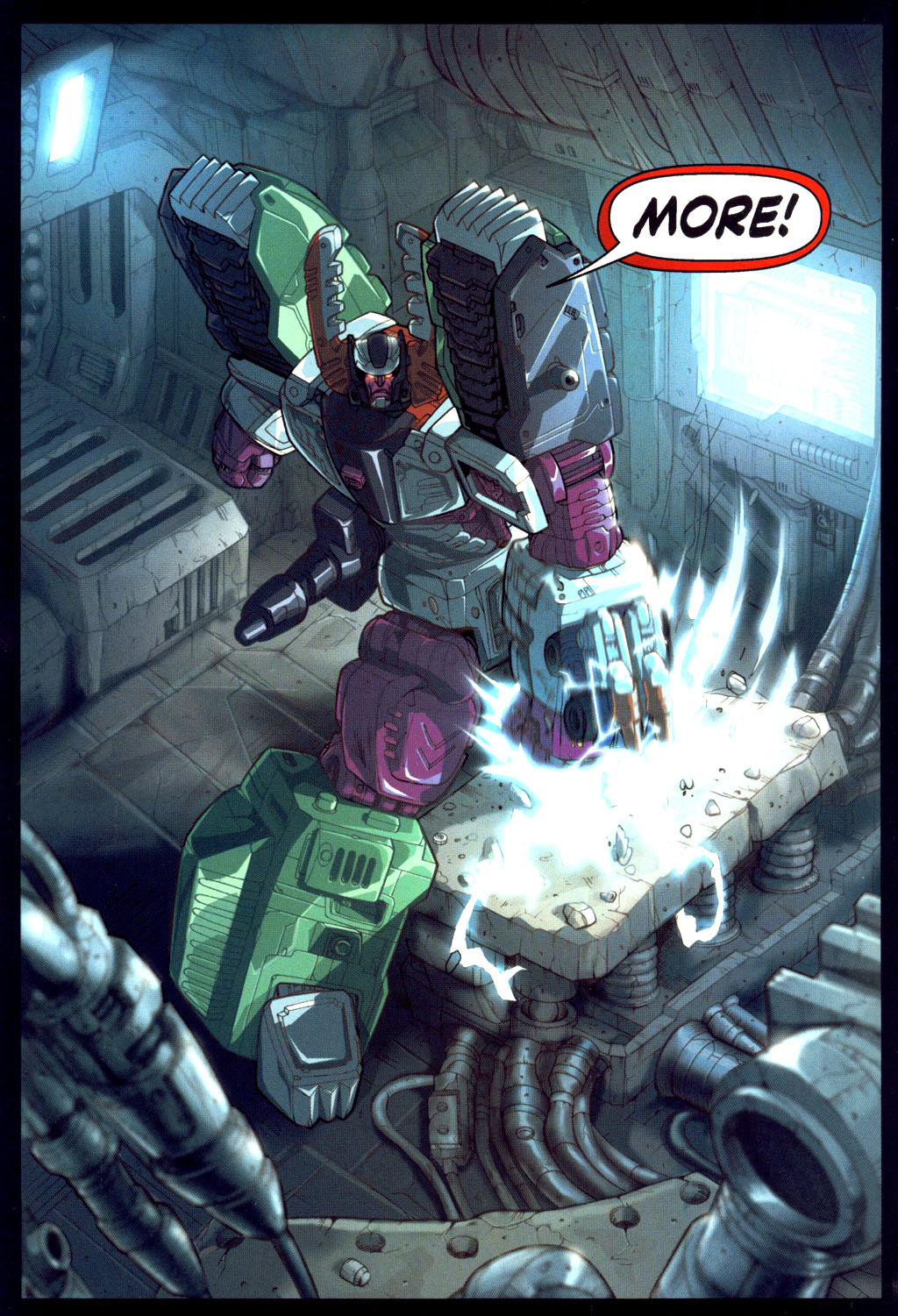 Read online Transformers Armada comic -  Issue #6 - 5