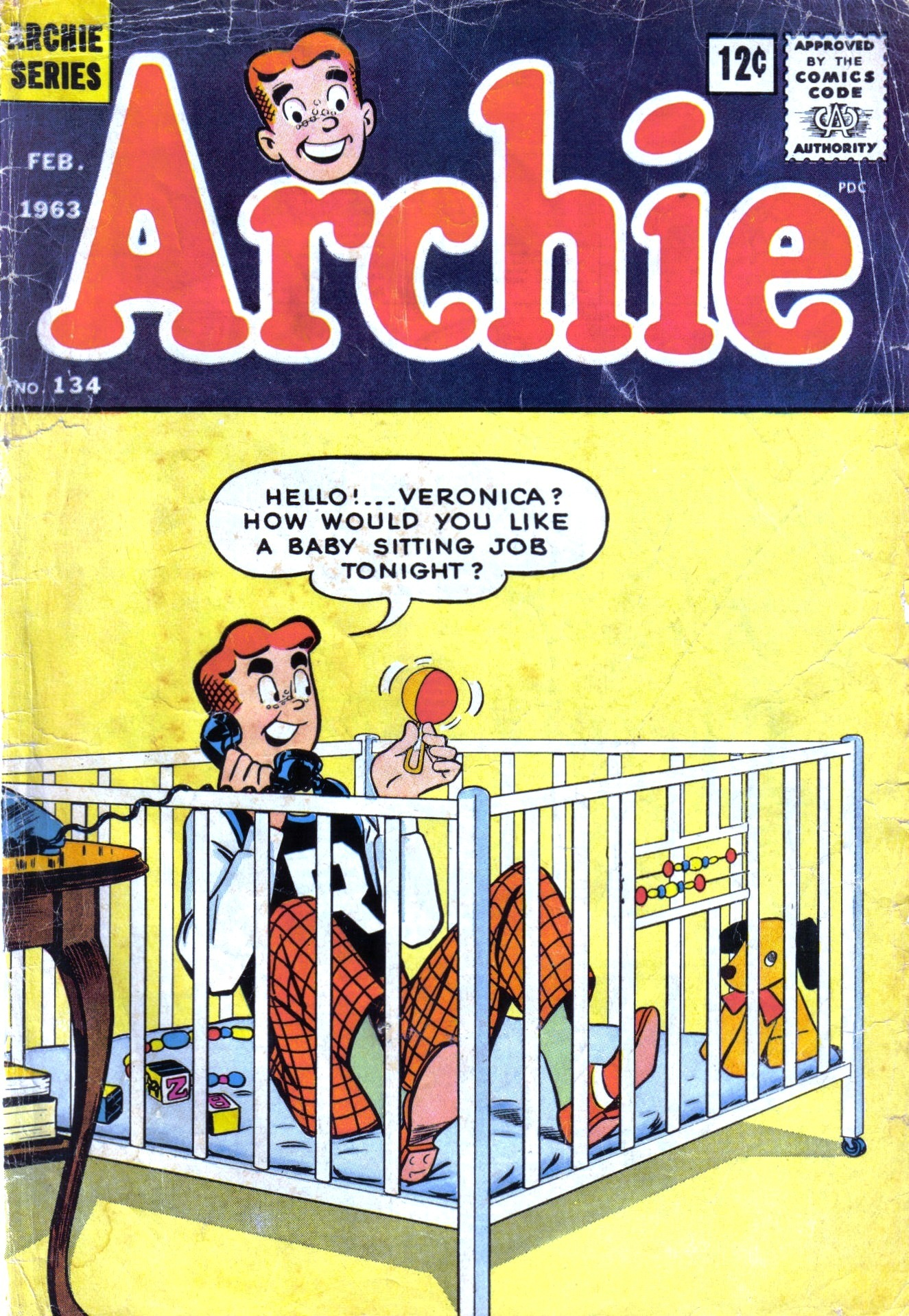 Read online Archie (1960) comic -  Issue #134 - 1