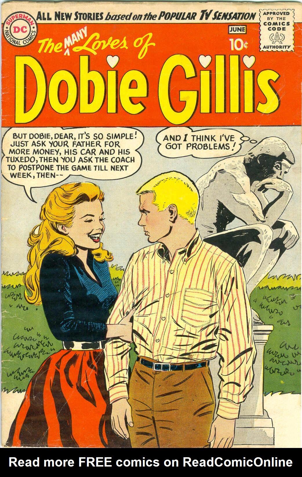 Many Loves of Dobie Gillis 1 Page 1