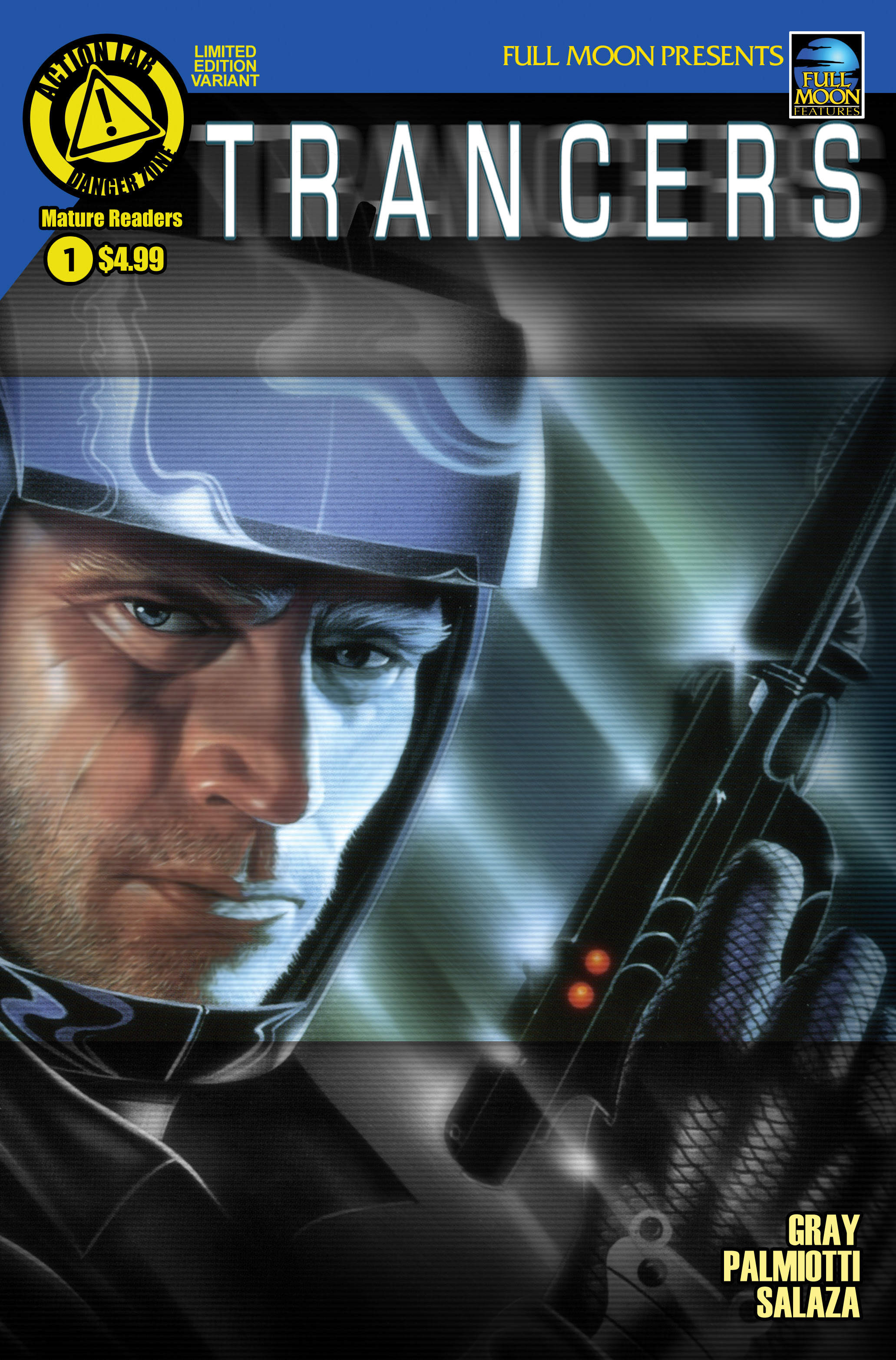 Read online Trancers comic -  Issue #1 - 2