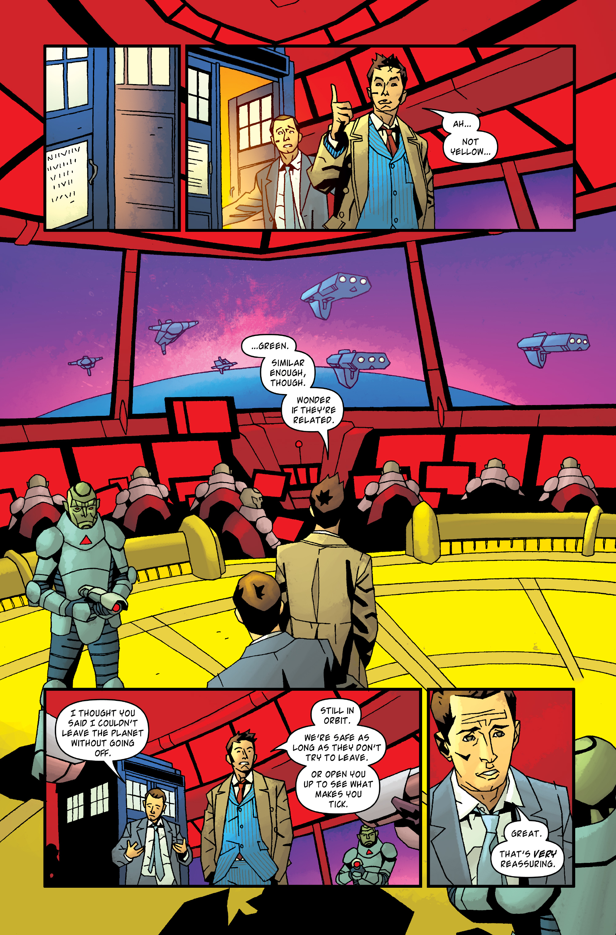 Read online Doctor Who: The Tenth Doctor Archives comic -  Issue #35 - 31