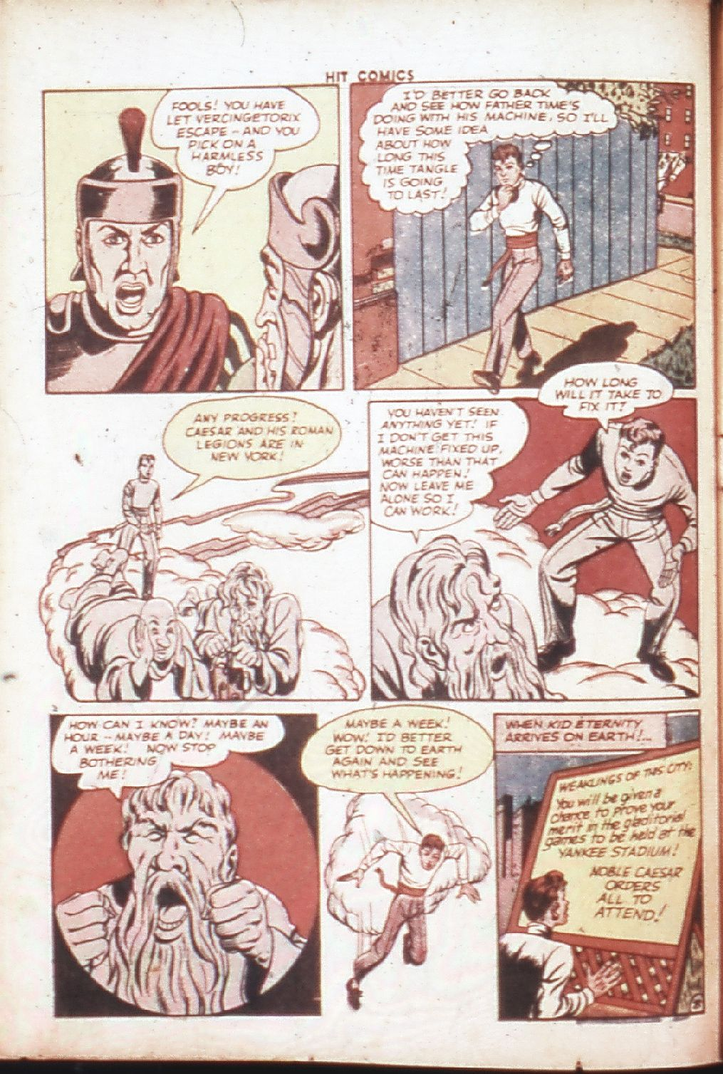 Read online Hit Comics comic -  Issue #30 - 11