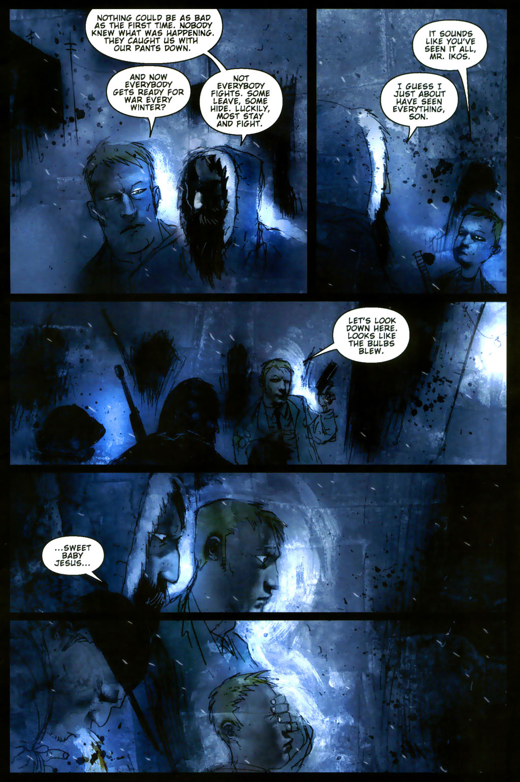 Read online 30 Days of Night: Return to Barrow comic -  Issue #3 - 20