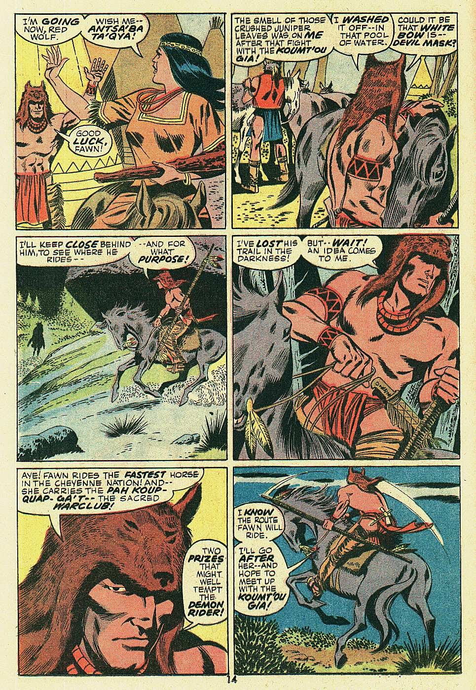 Red Wolf (1972) issue 6 - Page 11