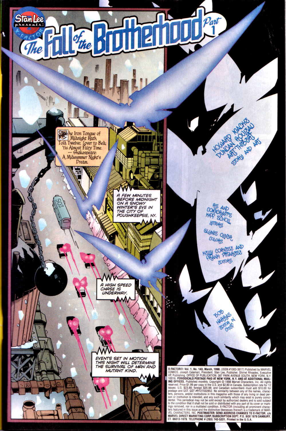 Read online X-Factor (1986) comic -  Issue #143 - 2