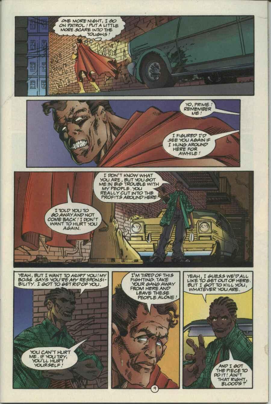 Read online Ultraverse Premiere comic -  Issue #4 - 9