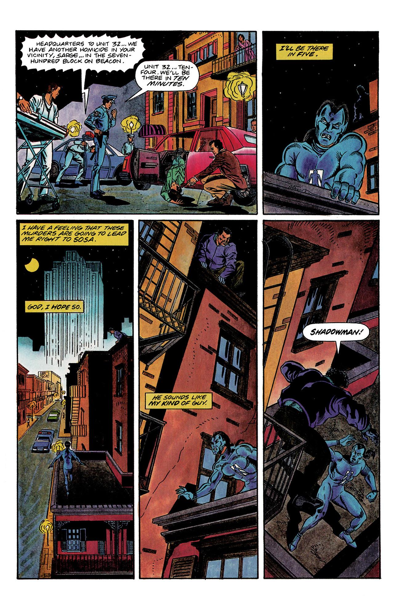 Read online Shadowman (1992) comic -  Issue #3 - 16