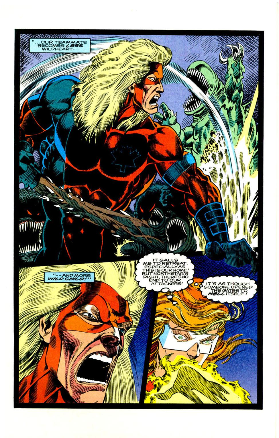 Read online Alpha Flight (1983) comic -  Issue #123 - 11