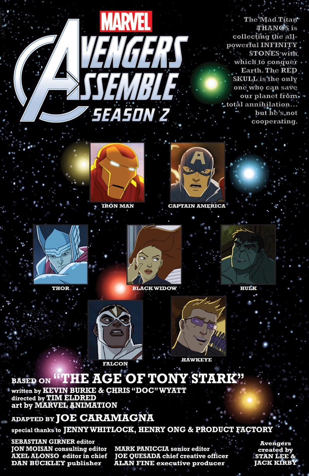 Read online Marvel Universe Avengers Assemble Season 2 comic -  Issue #6 - 2