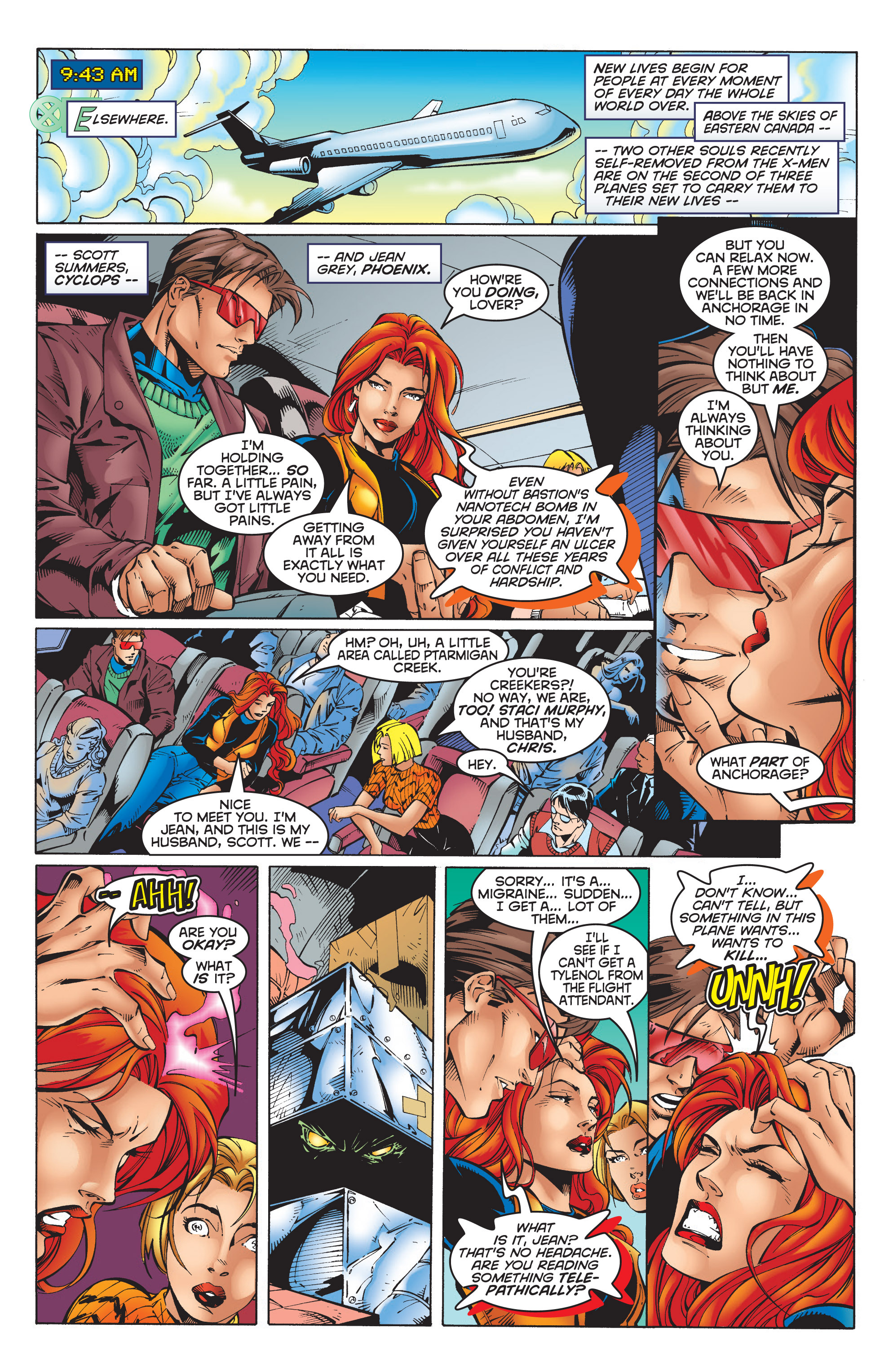 Read online Uncanny X-Men (1963) comic -  Issue #351 - 8