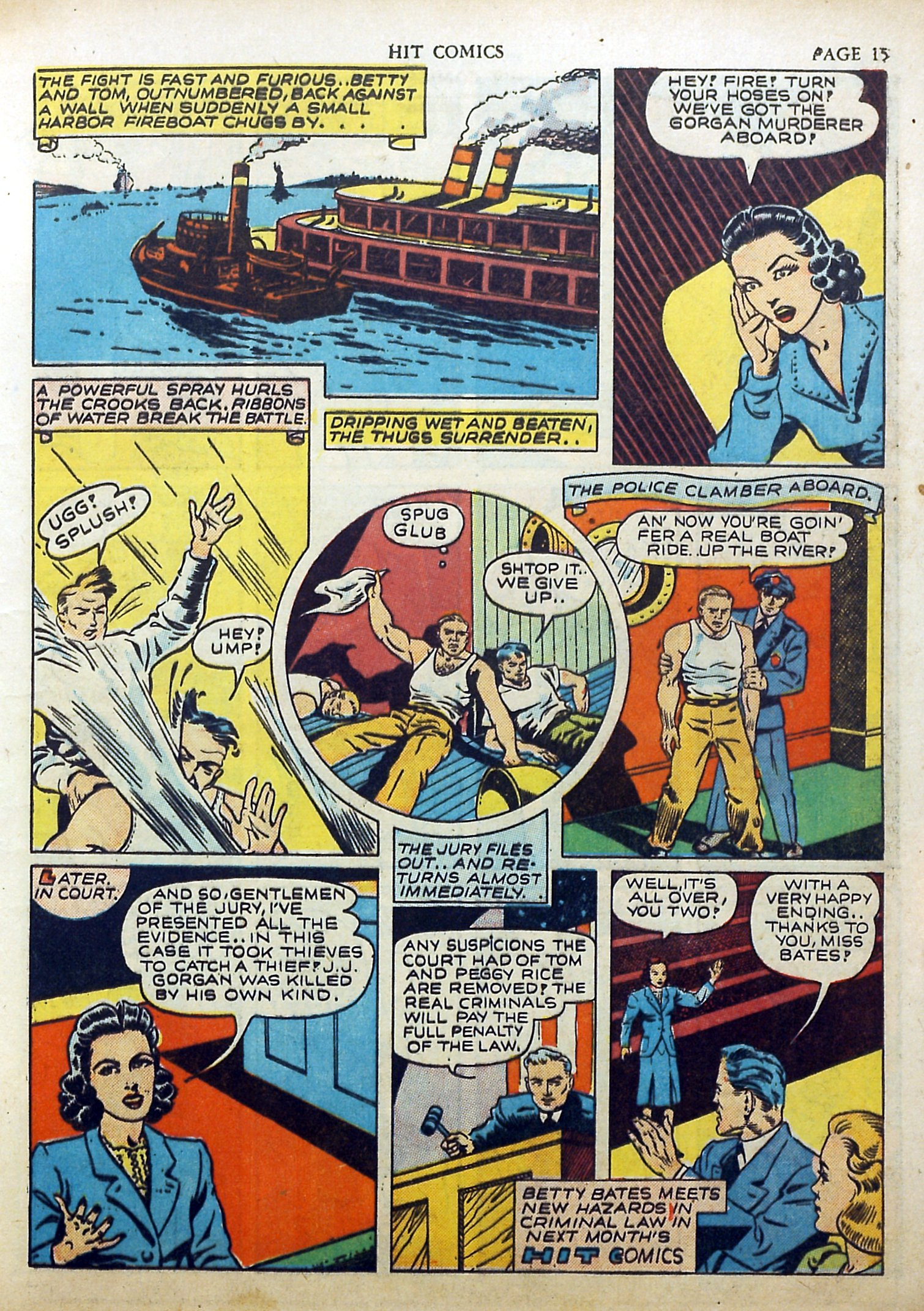 Read online Hit Comics comic -  Issue #17 - 17