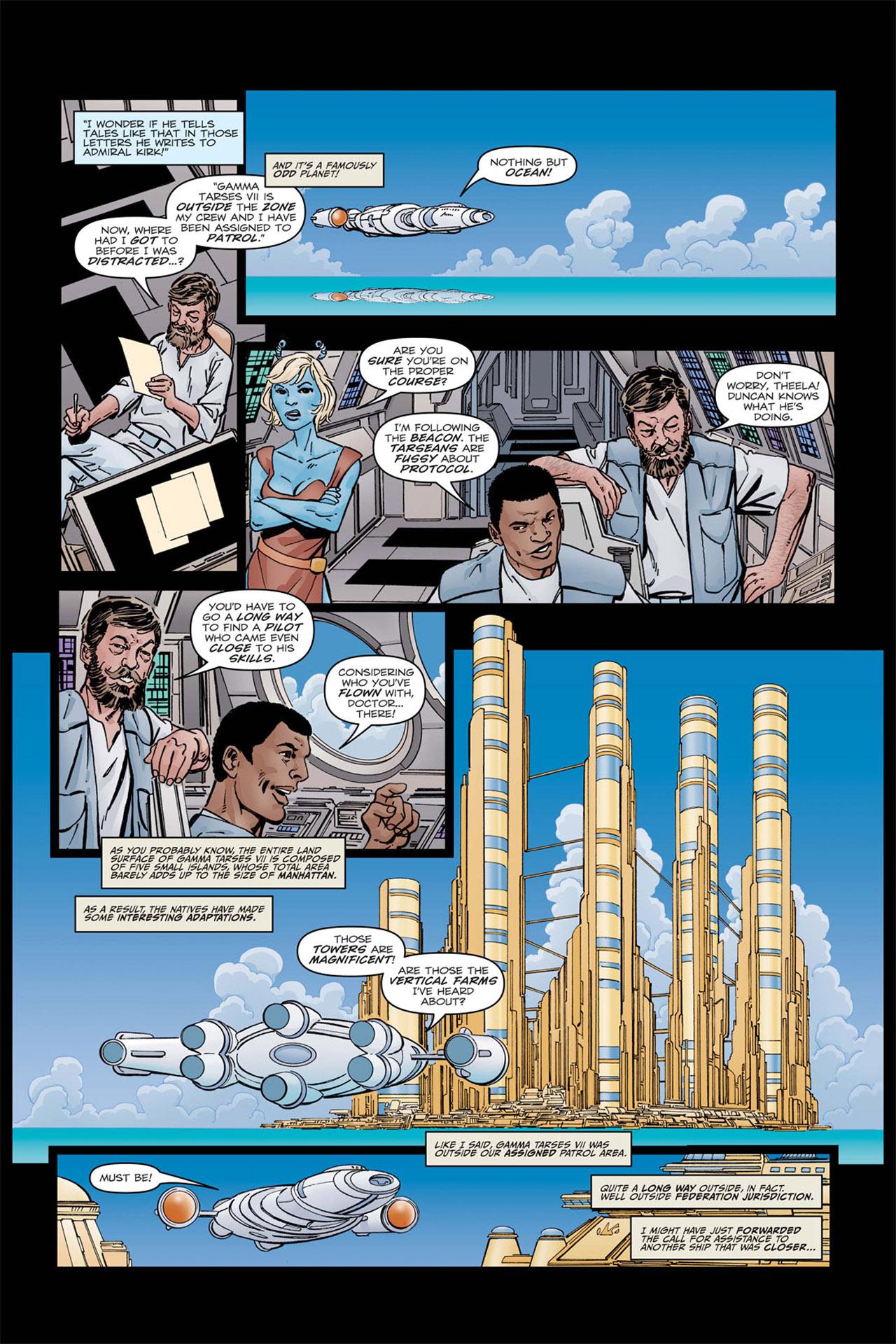 Read online Star Trek: Leonard McCoy, Frontier Doctor comic -  Issue #2 - 7